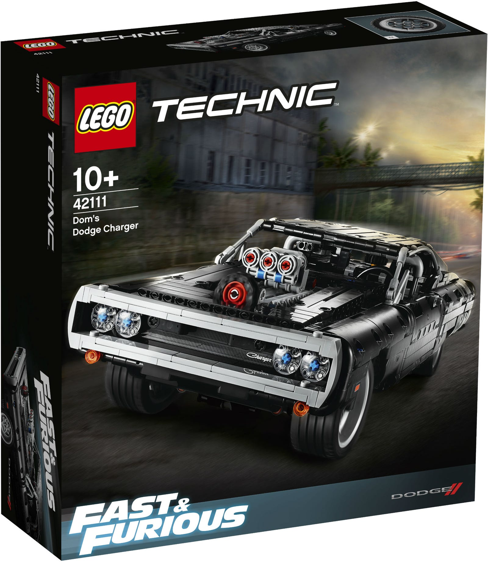 Illustration for article titled iFast and Furious/i Joins the Lego Family With Doms Dodge Charger