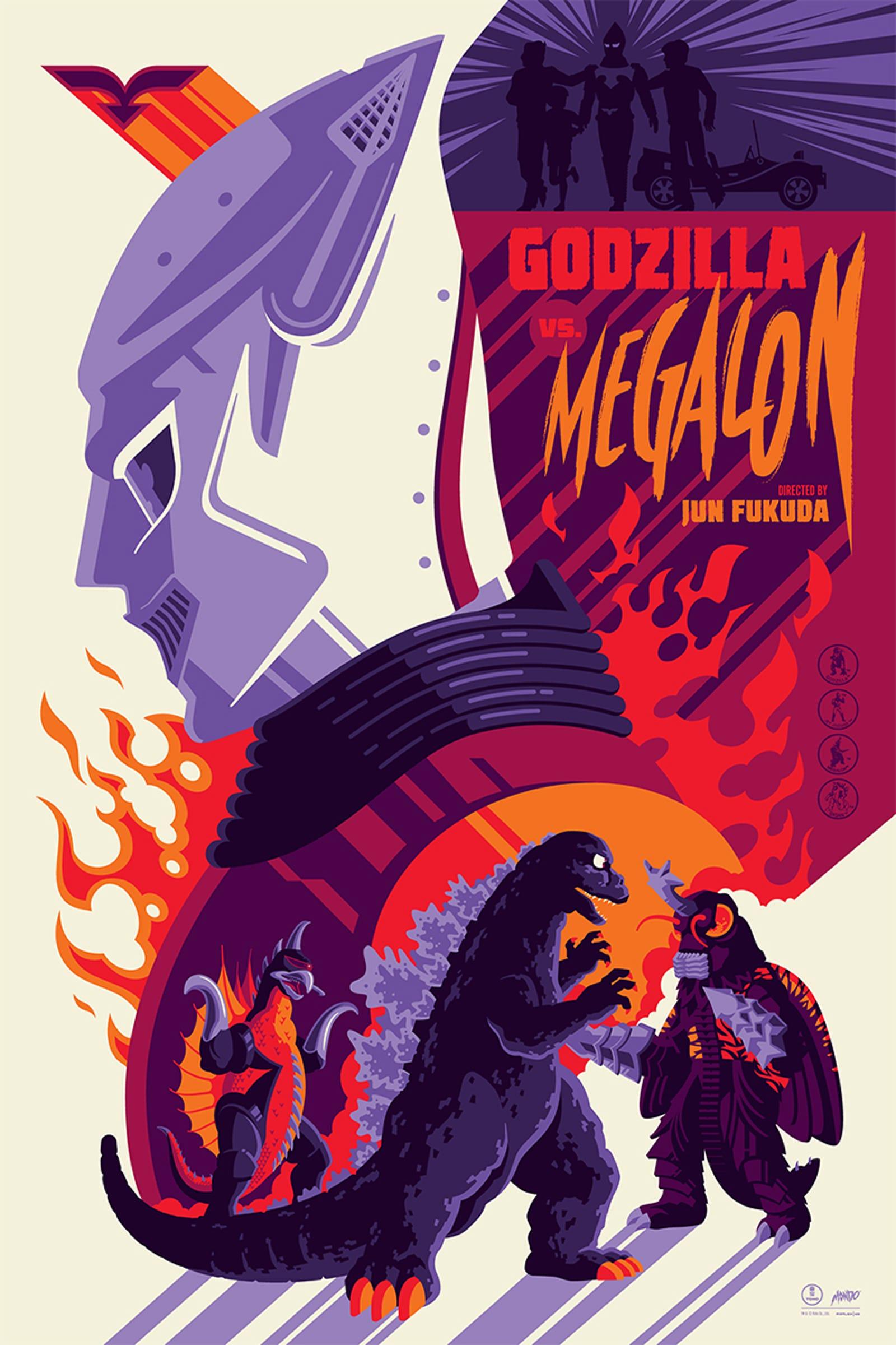 The standard edition of Godzilla vs. Megalon...