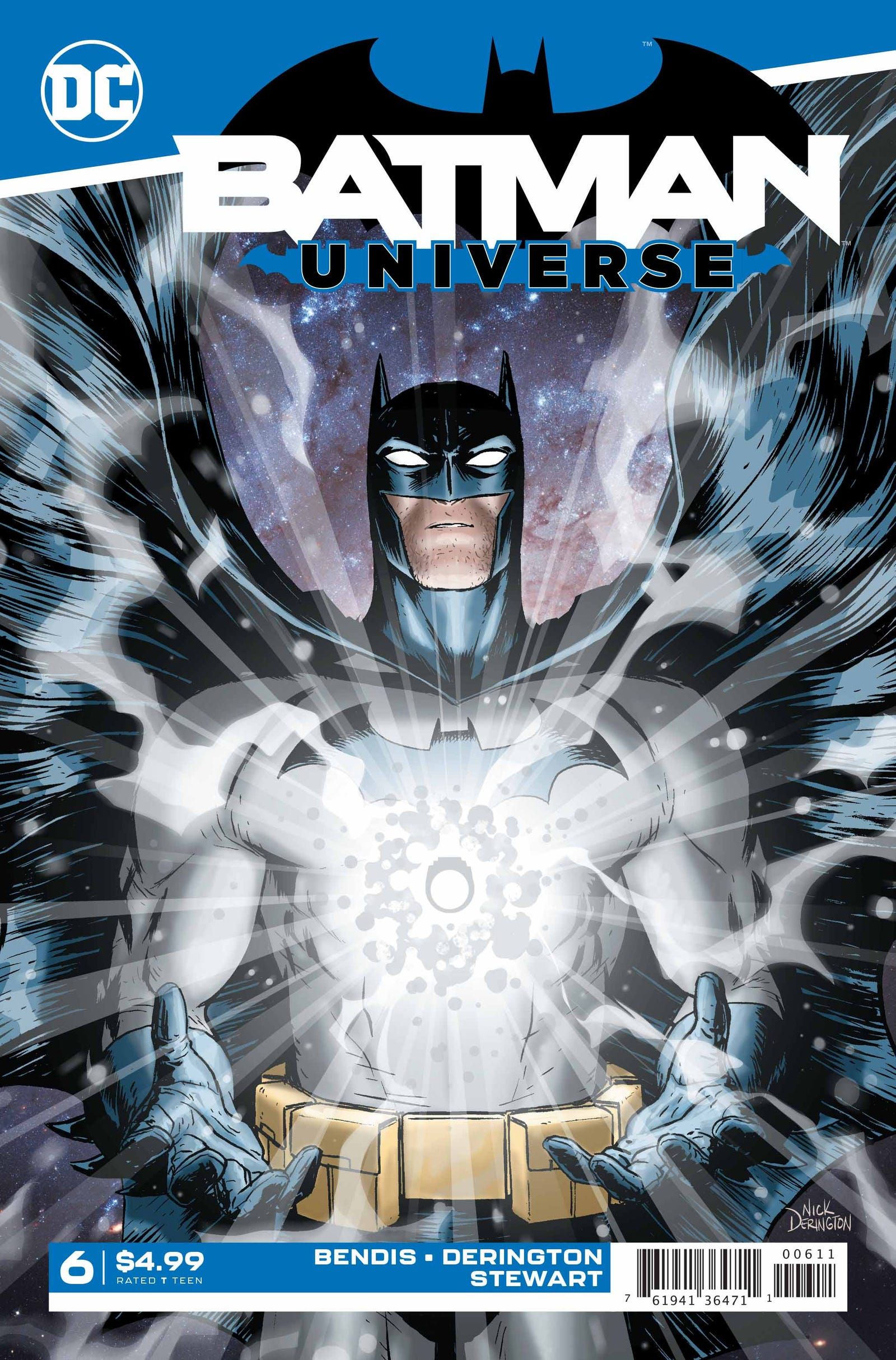 Illustration for article titled The White Lantern traps the Dark Knight in this emBatman Universe/em exclusive