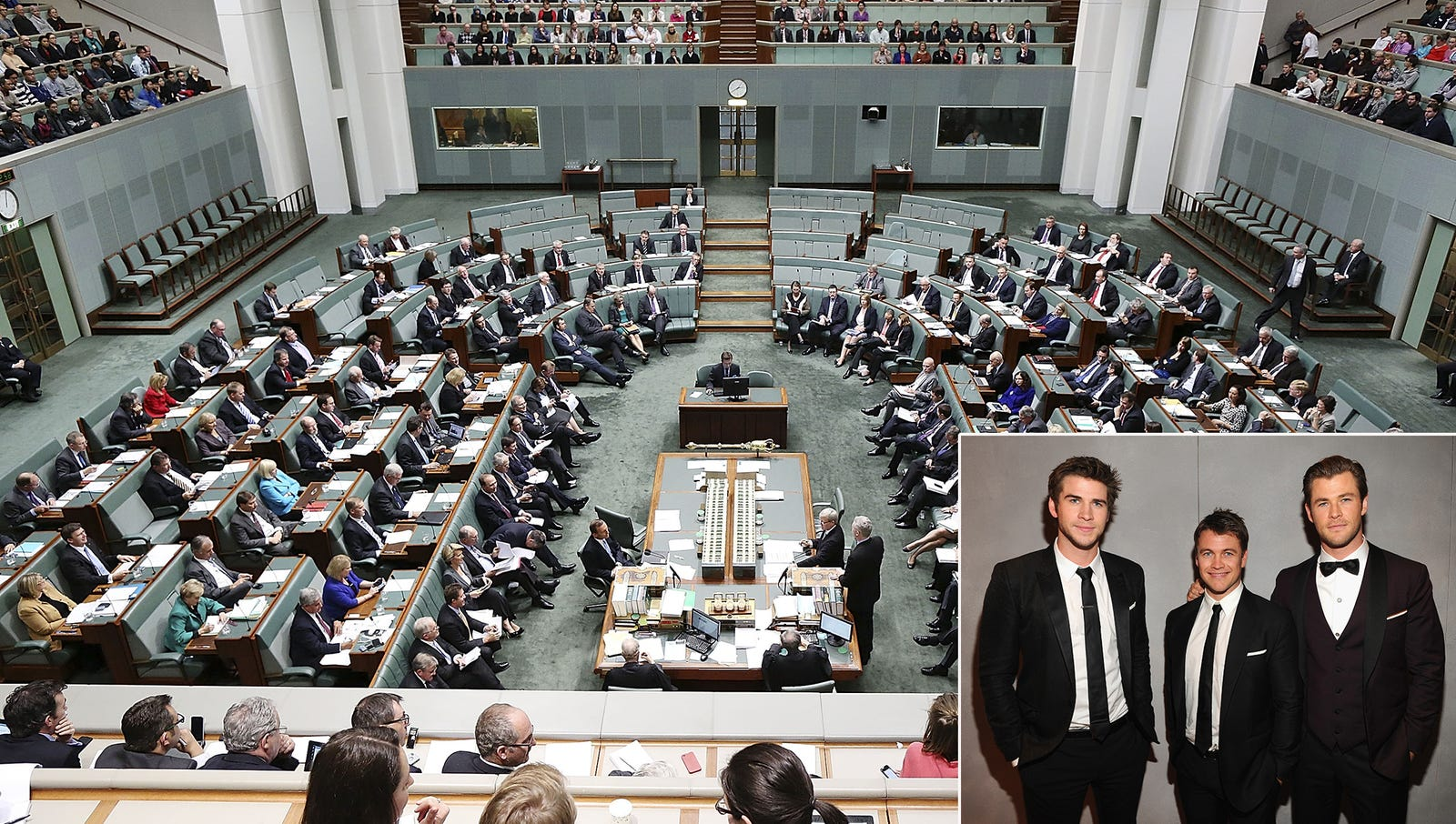 Australian Parliament Gathers To Discuss Dwindling Hemsworth Reserves