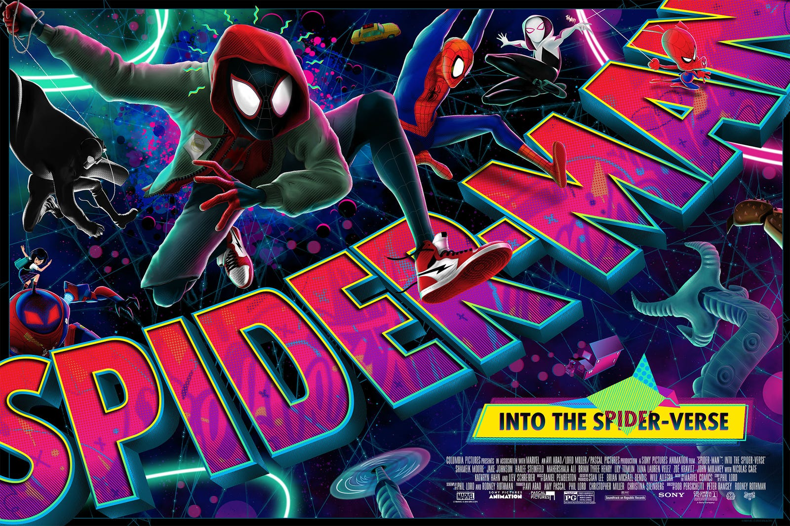 Spider-Man: Into the Spider-Verse by Greg Saputo. Available today.