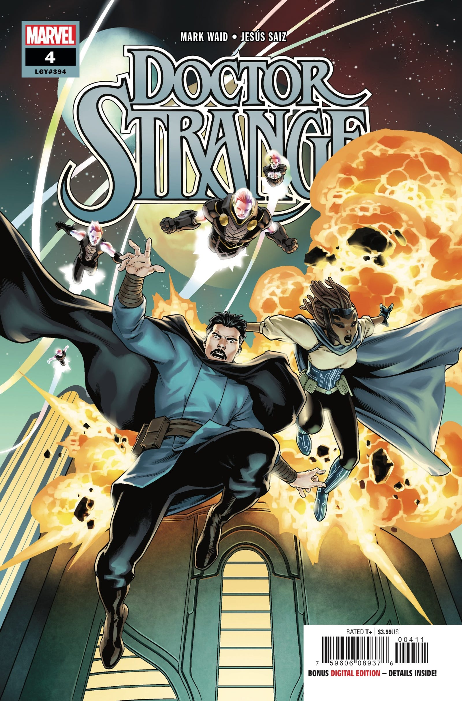 Cover by Jesús Saiz