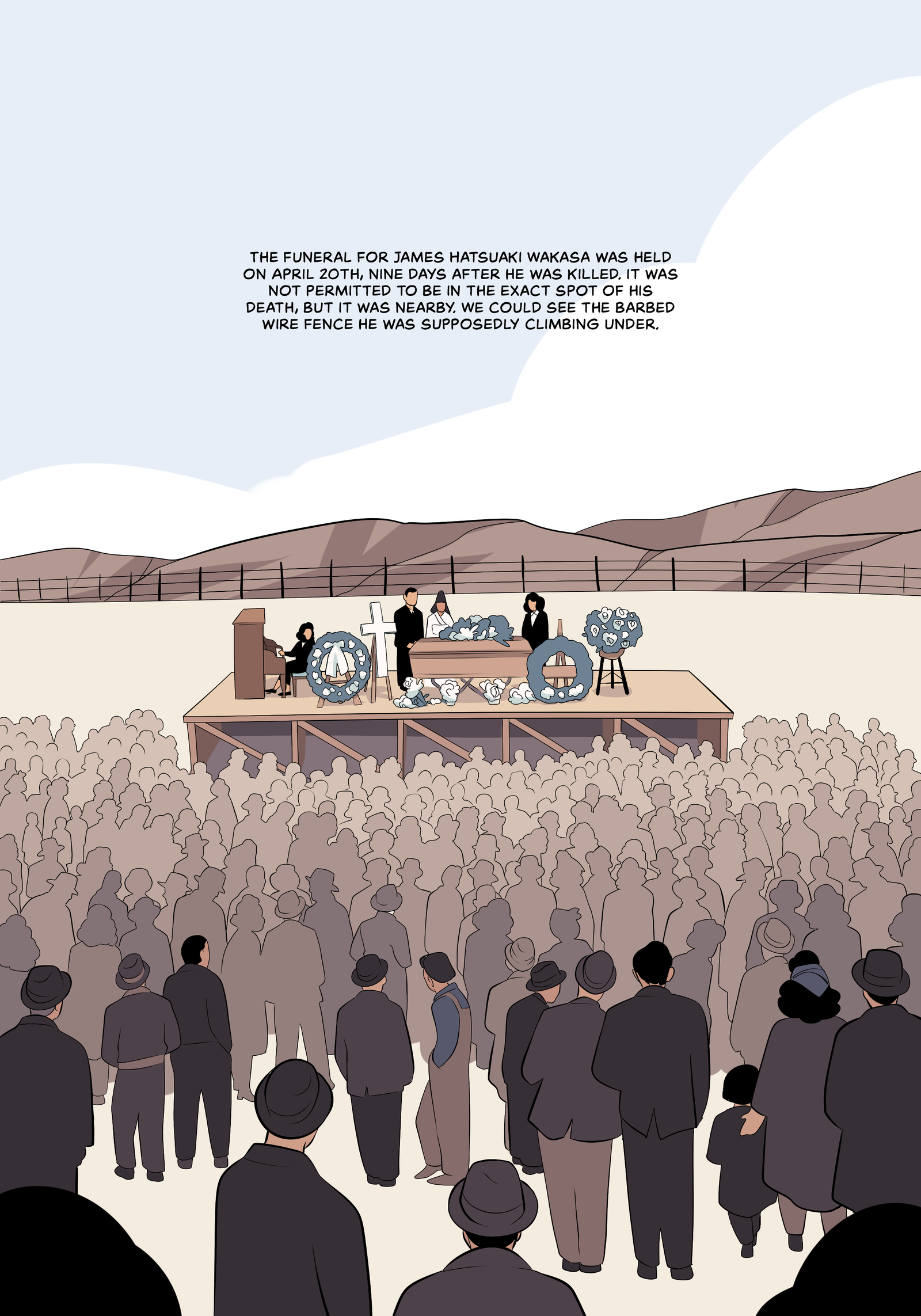 Illustration for article titled This emDisplacement /emfirst look sends a cartoonist into her family's tragic past