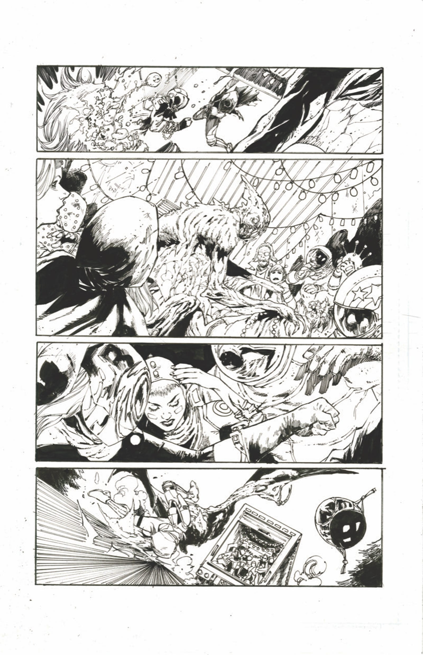 Illustration for article titled Get a Look Inside Scott Snyder and Tony S. Daniels Newly Renamed Kickstarter Hit