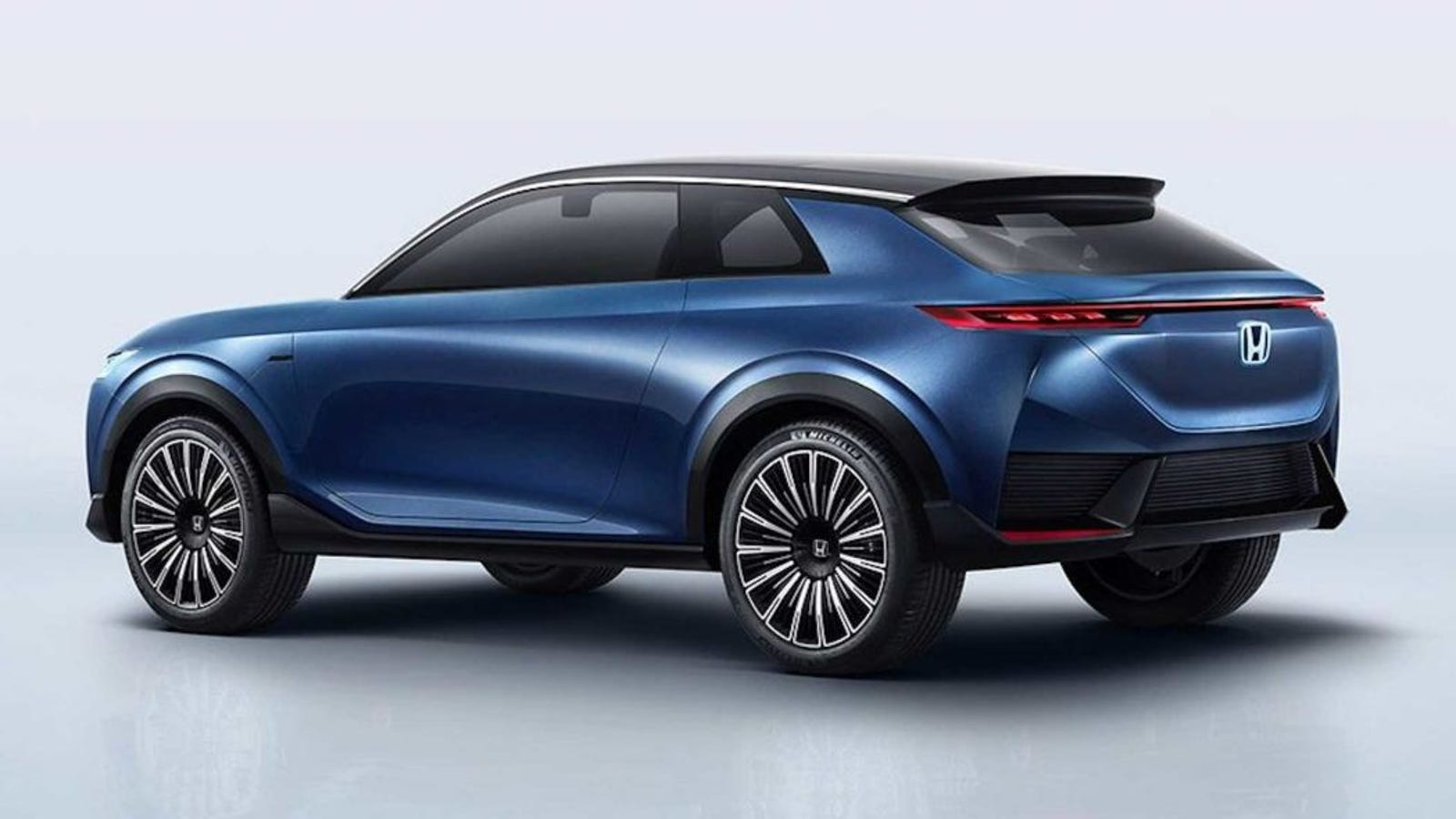 Illustration for article titled Hondas Electric SUV Concept For China Looks Kind Of Great