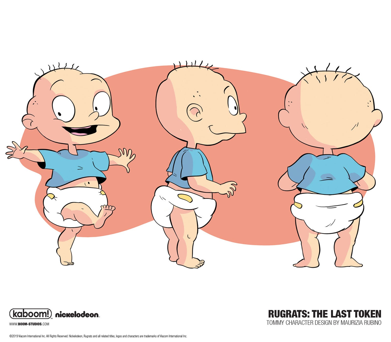 An exclusive look at Maurizia Rubino's designs for Tommy, Chuckie, Phil, and Lil in The Last Token.