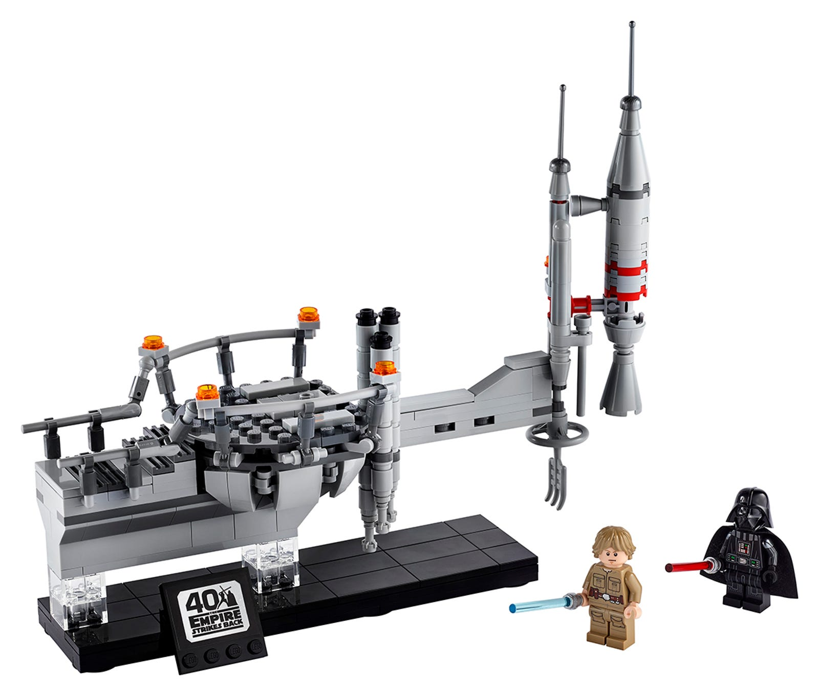 Illustration for article titled Search Your Feelings, You Know Legos iEmpire Strikes Back/i Anniversary Set to Be Cool