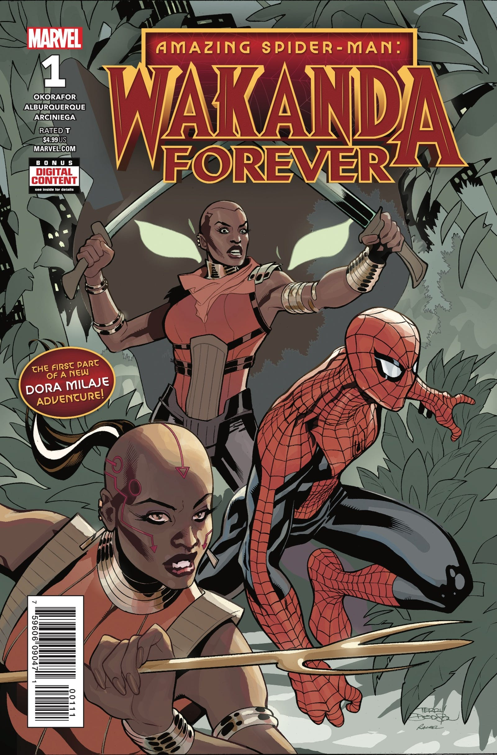 Cover by Terry and Rachel Dodson