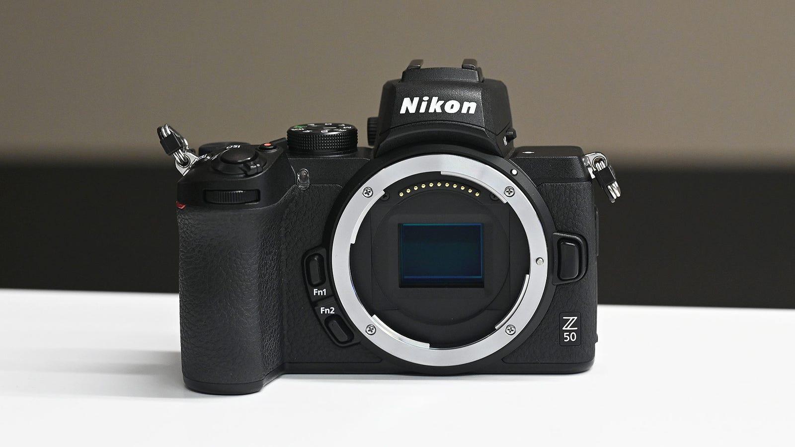 Unlike the Nikon Z6/Z7, the Z50 features a smaller 20.9-MP DX-sized sensor.