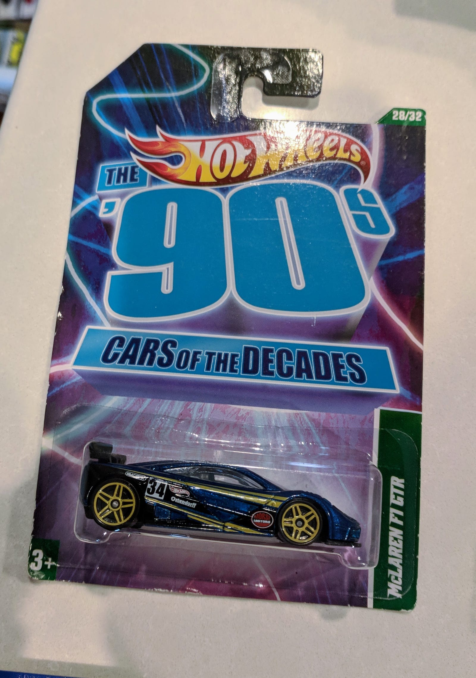 Lot 18: British Invasion - $25 for 15 cars including the elusive Card of the Decades F1...