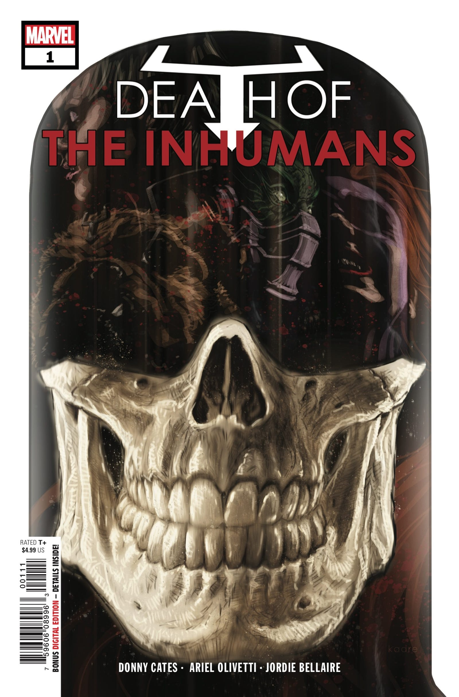 Cover by Kaare Andrews
