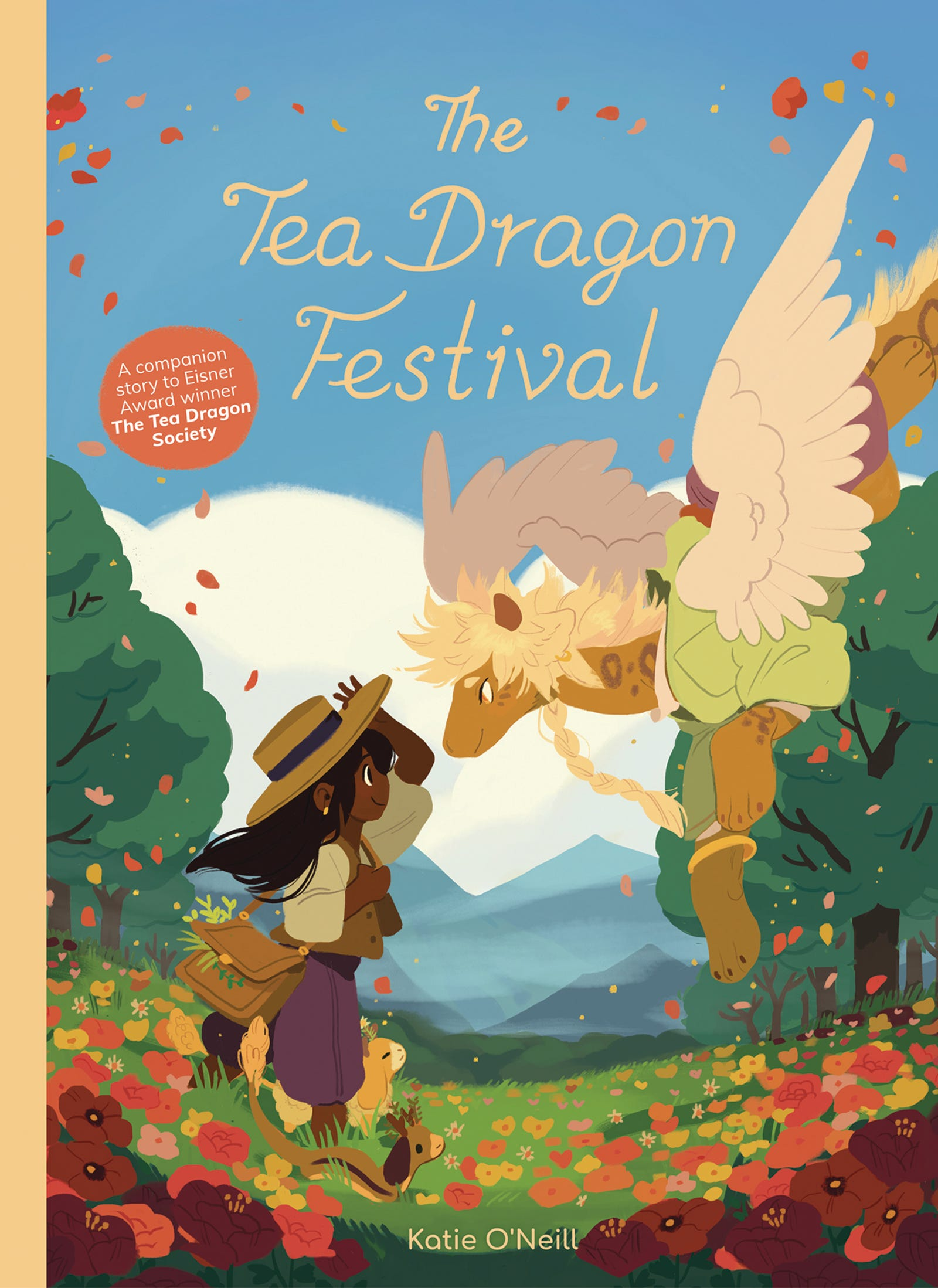 Illustration for article titled iThe Tea Dragon Festival/i returns to Katie O'Neill's soft, soothing fantasy world