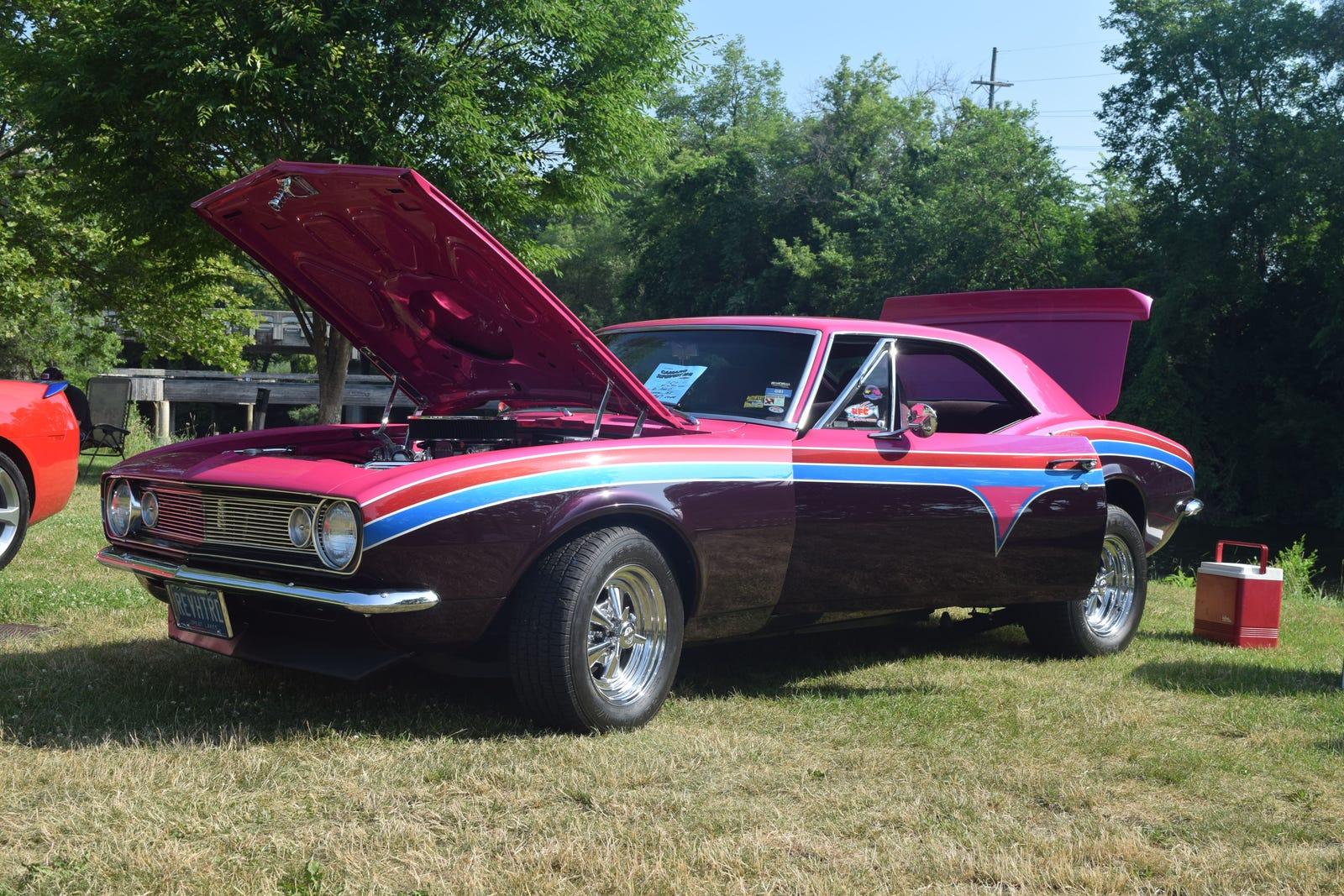 Reverend Hot Rod's unique '67 Camaro.