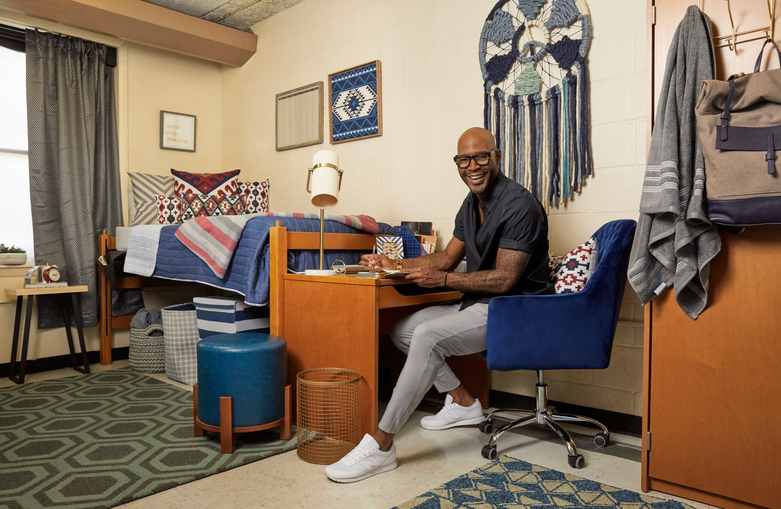 Illustration for article titled FAMU Alum Karamo Brown Just Gave the HBCU a iQueer Eye/i Makeover