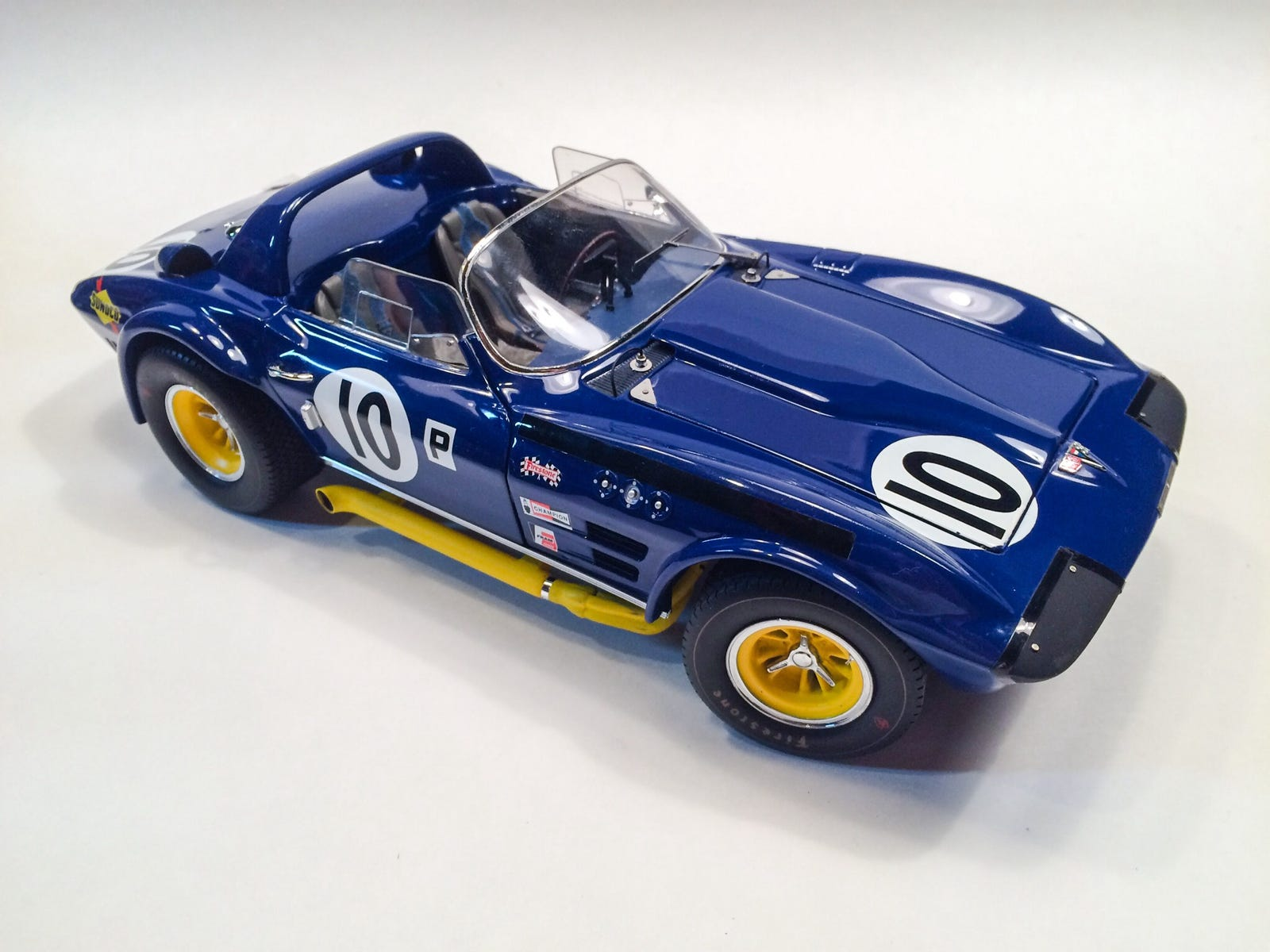 Lot 26: 1:18 Scale Exoto Corvette Grand Sport $75 shipped (US). Some paint rash on hood. LaLD review here: