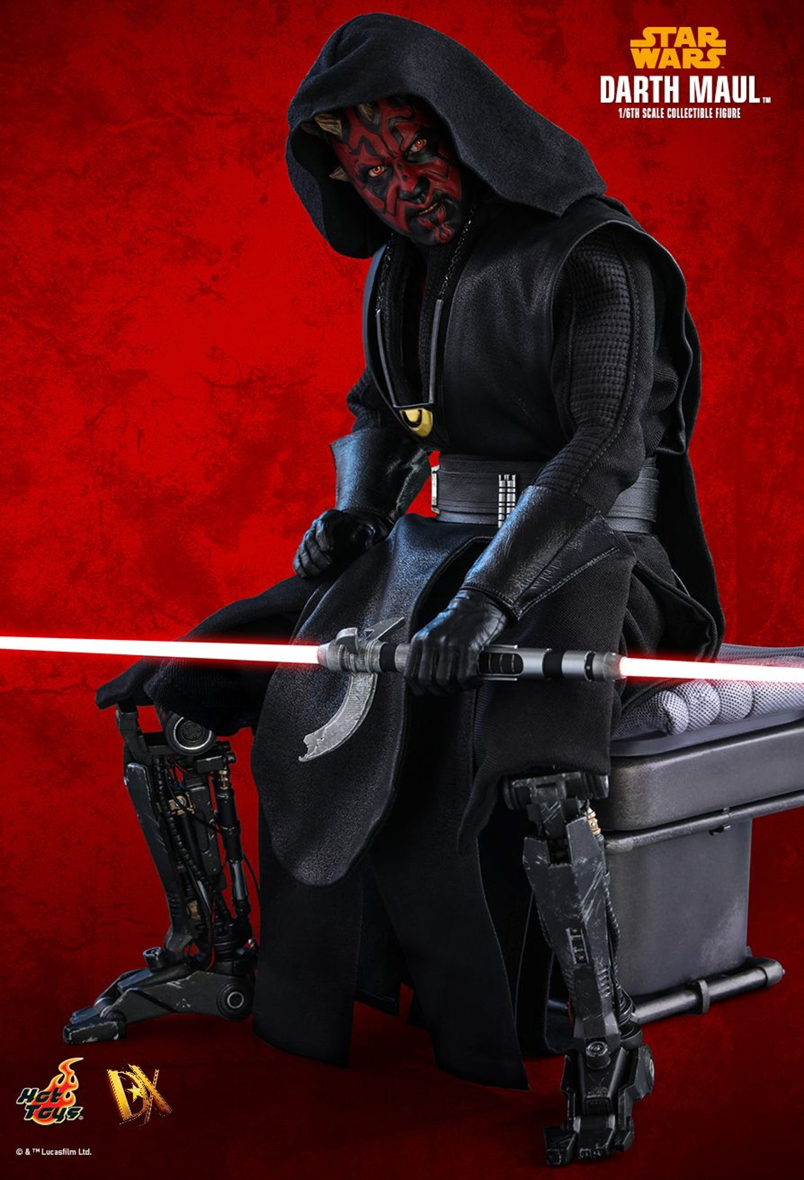 Illustration for article titled iSolo/is Surprise Darth Maul Cameo Gets an Unsurprisingly Great Action Figure
