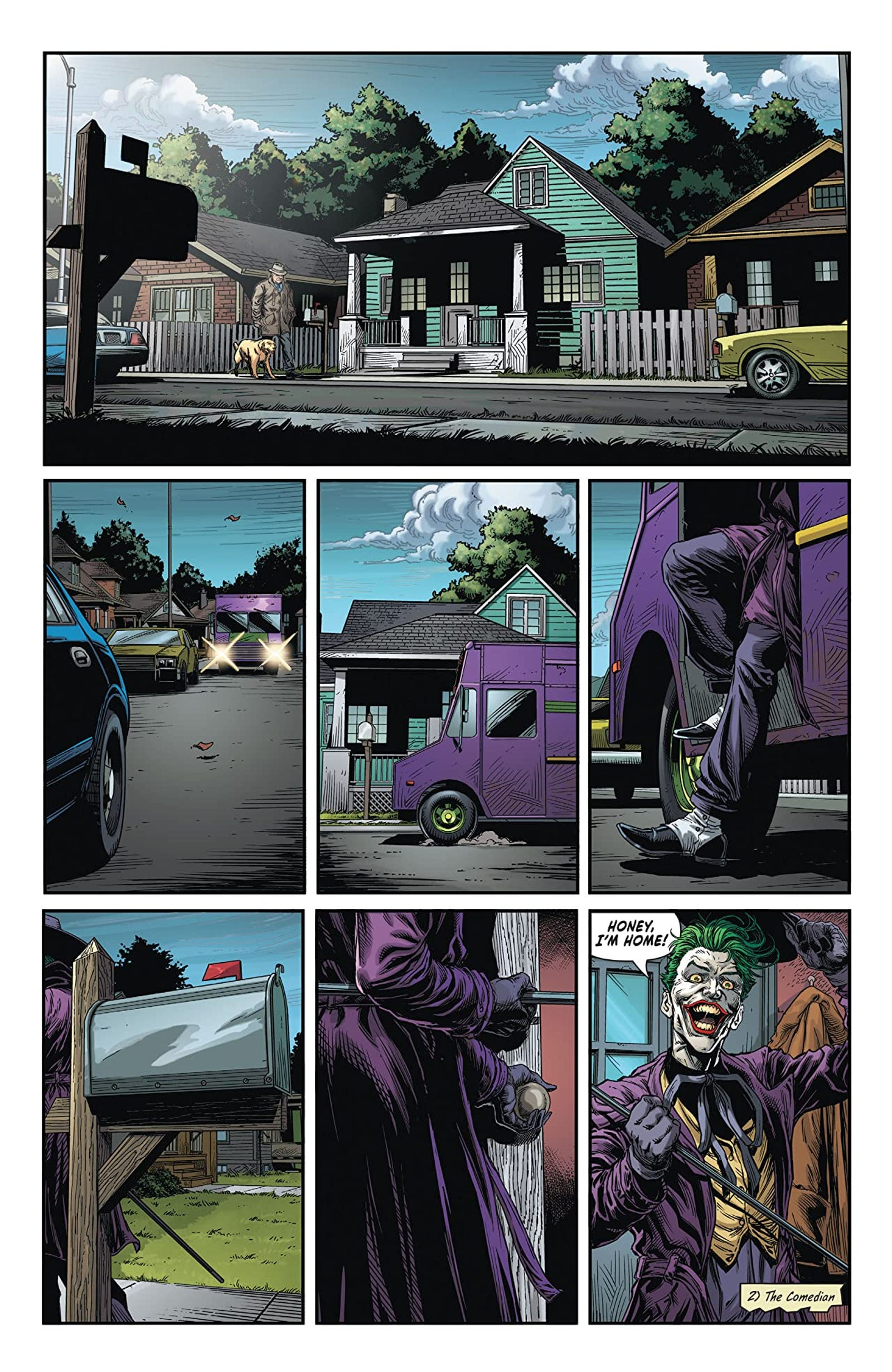 Batman: Three Jokers #2 art by Jason Fabok, Brad Anderson, and Rob Leigh