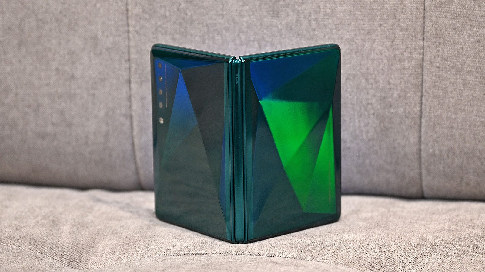 TCL's foldable concept doesn't have an official name yet, but it does look promising.