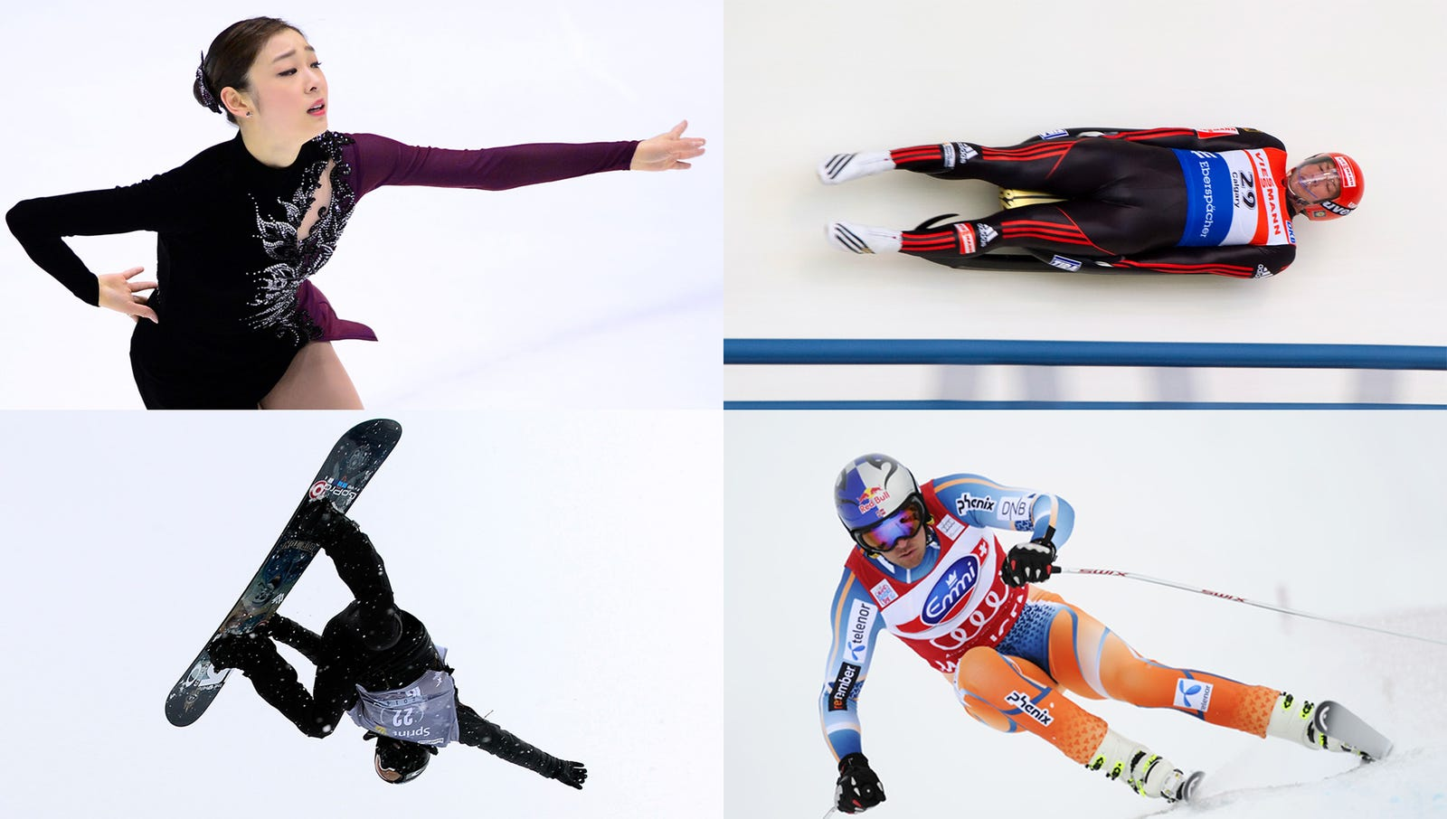 Thousands Of Athletes Who Will Disgrace Countries Eagerly Training For Winter Olympics