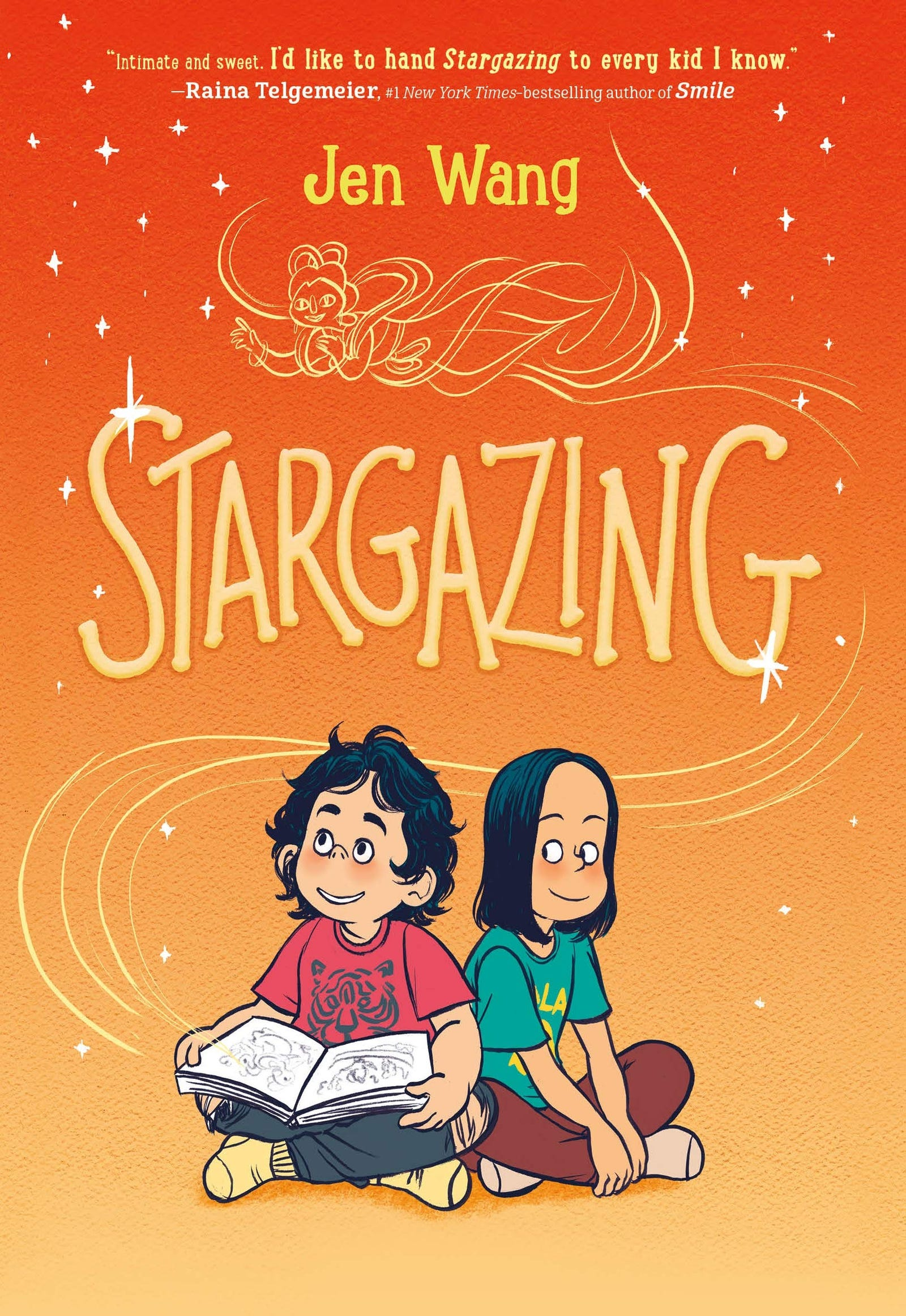 Illustration for article titled iStargazing/i has just as much heart as Jen Wang's 2018 hit, iThe Prince/i iAnd The Dressmaker/i