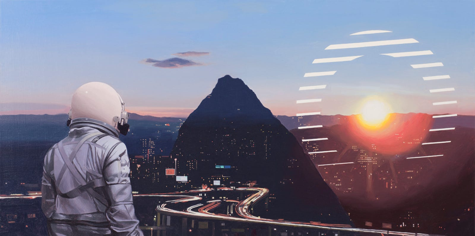 Sun Sets on the City by Scott Listfield