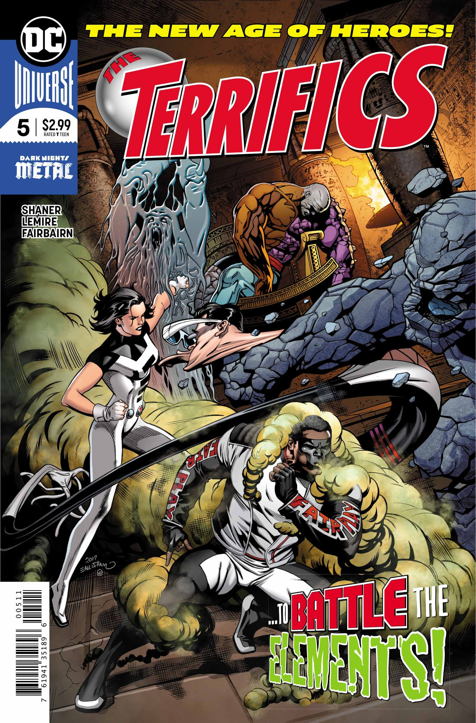 Cover by Dale Eaglesham and Wil Quintana