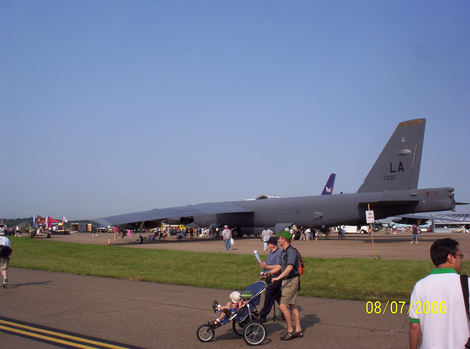 A crowd favorite, the B-52