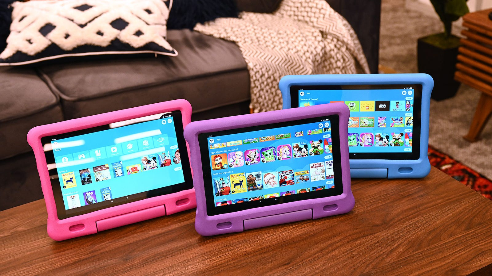Here's the new Fire HD 10 Kids Edition.
