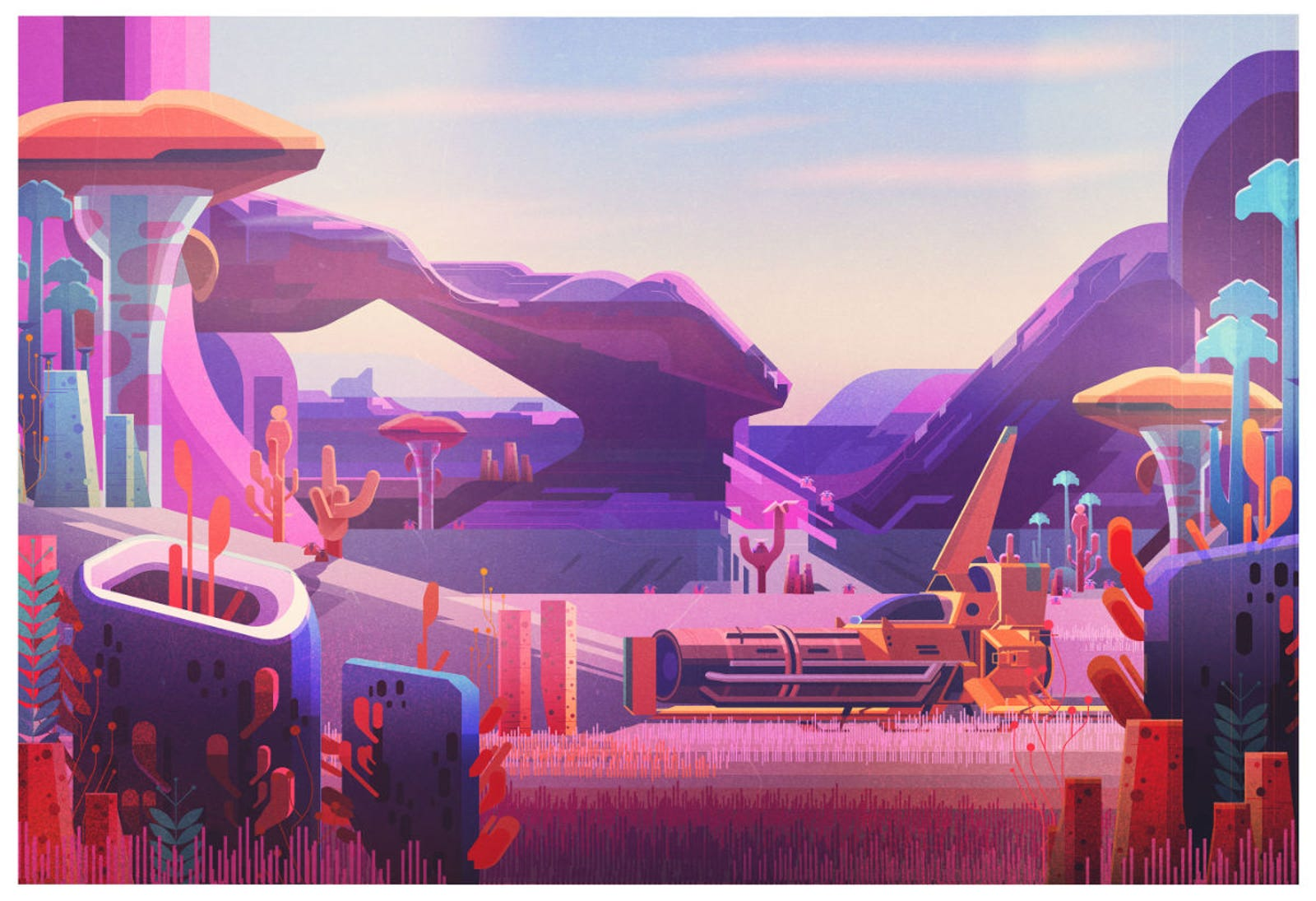 No Man's Sky by James Gilleard