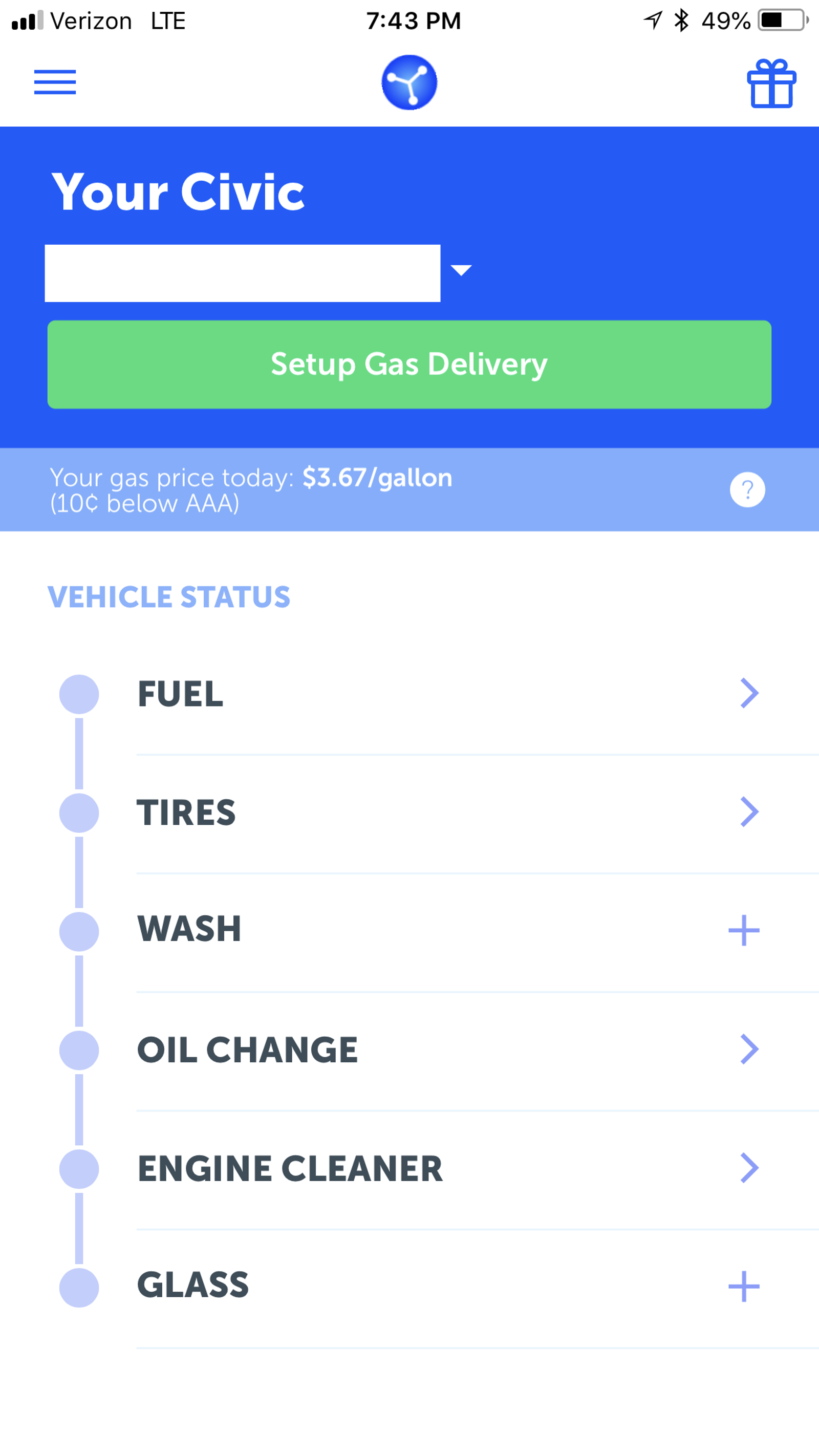 See all those options you can explore in addition to a simple gas delivery? That's a black hole for money.