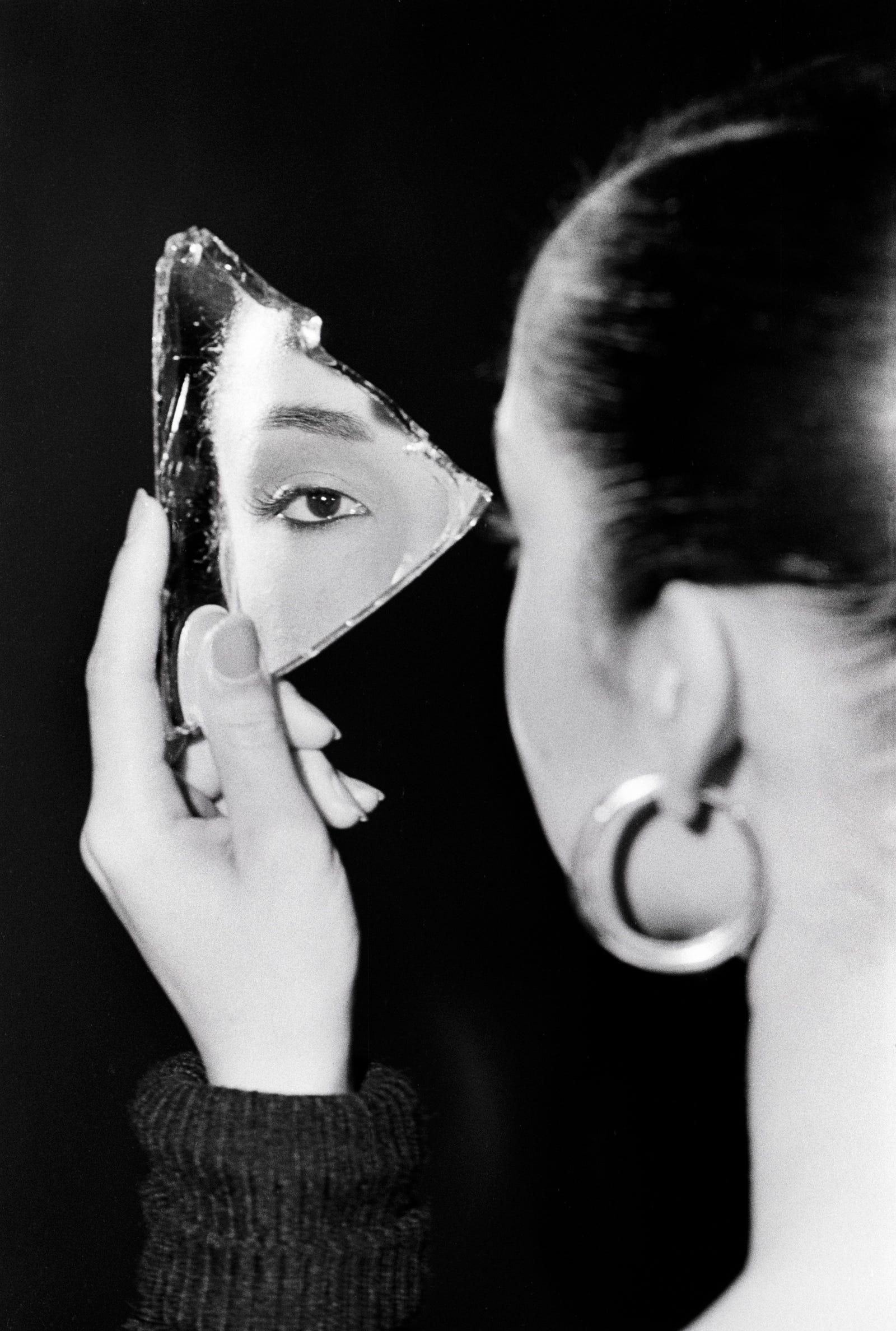 Sade in mirror 1983.