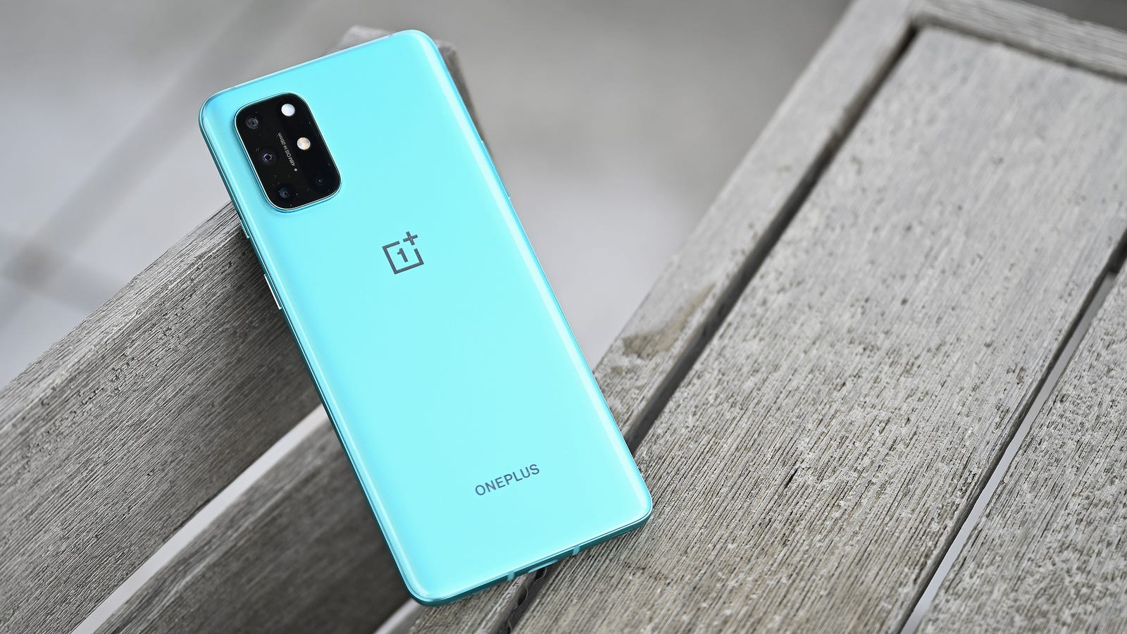 The OP8T will be available in two colors: aquamarine and silver. (Click through for more high-res shots of the OP8T.)
