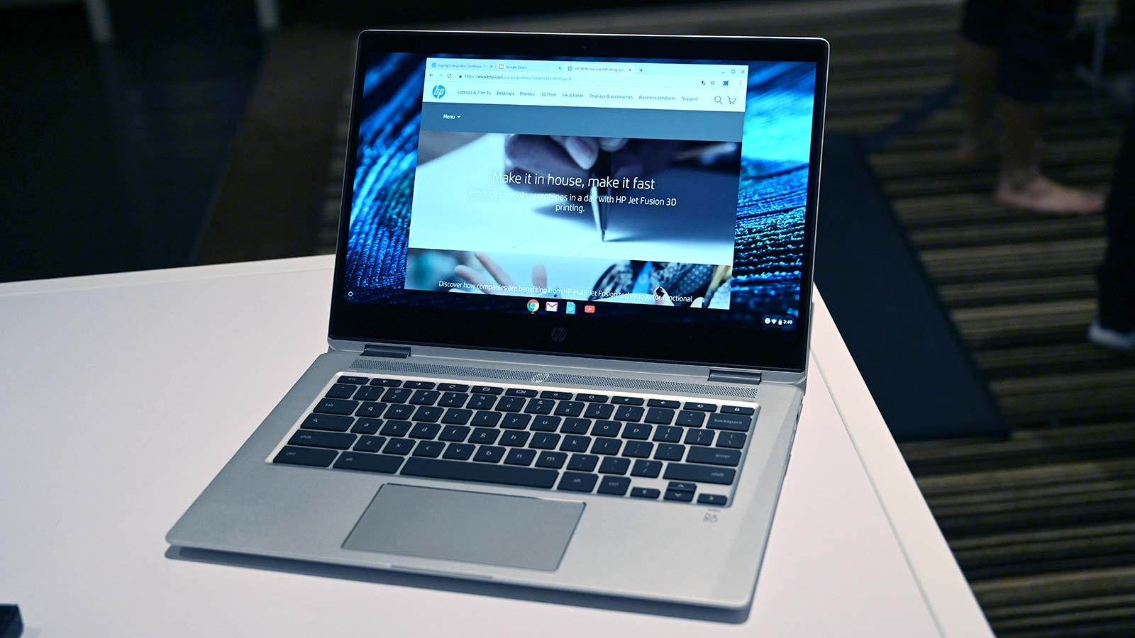 Not a bad looking Chromebook