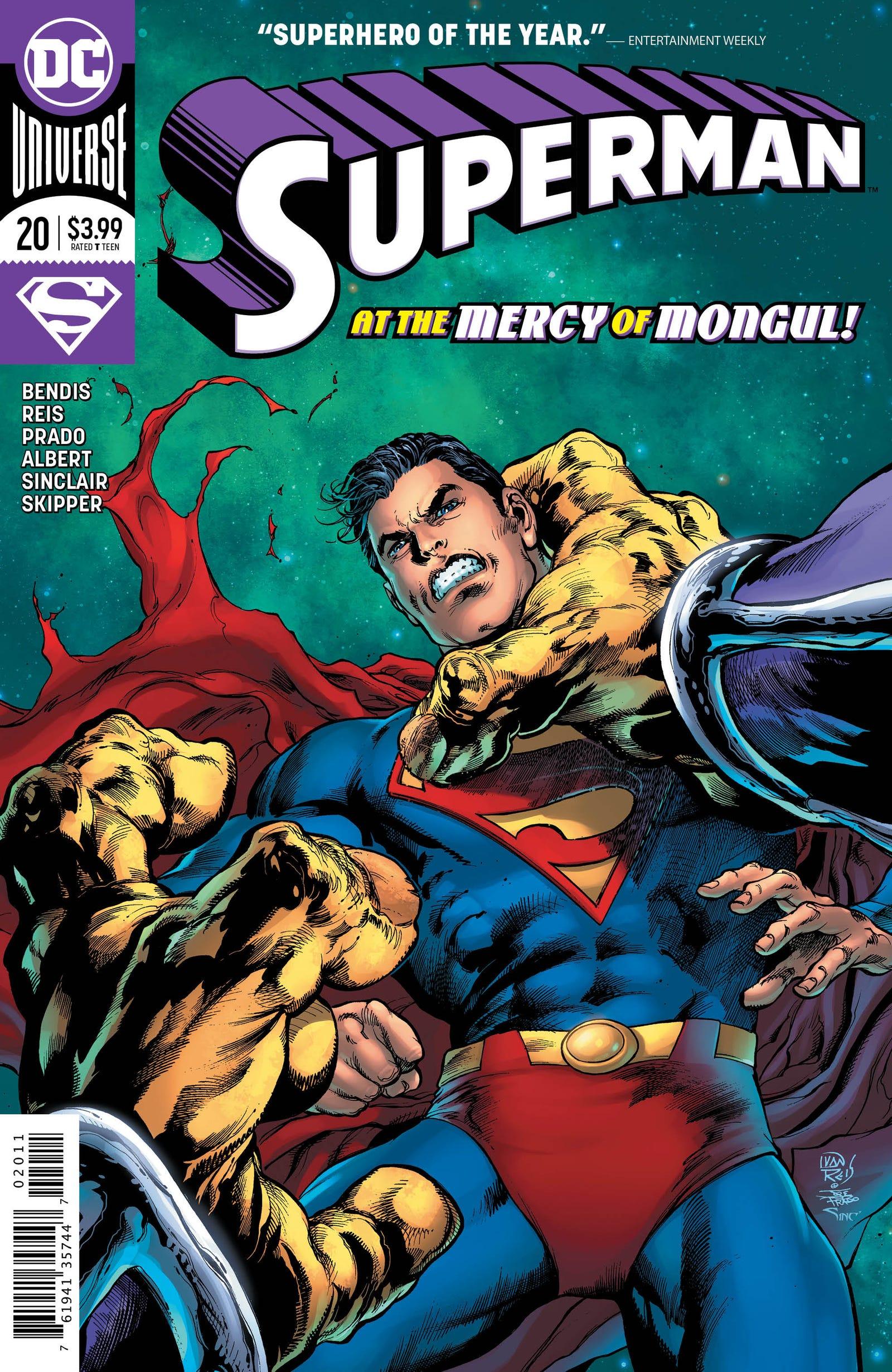 Cover by Ivan Reis, Joe Prado, and Alex Sinclair