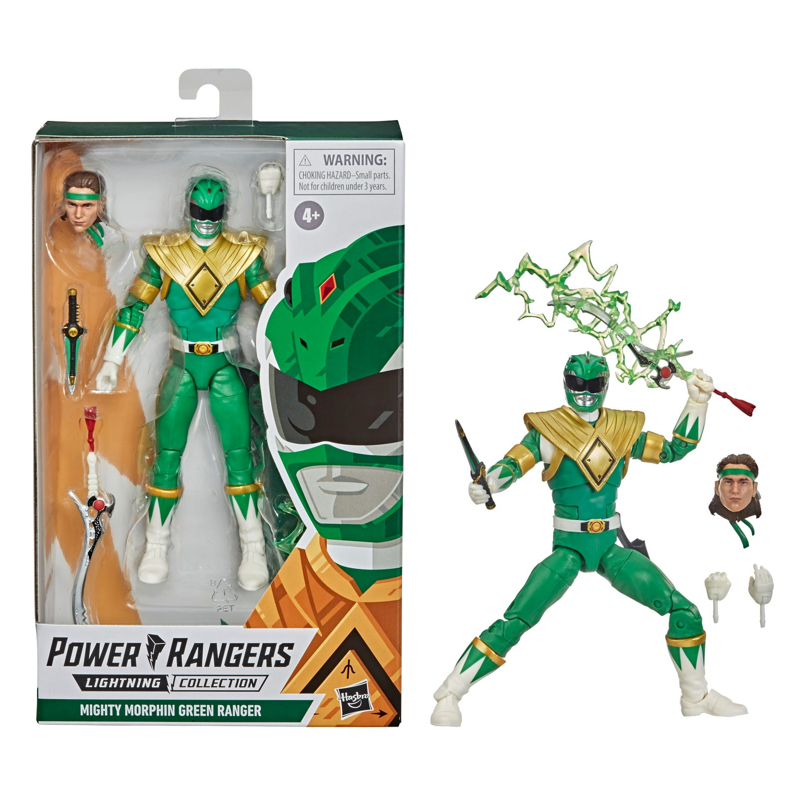 Illustration for article titled Tommy Oliver Leads the Charge in Hasbros Next Wave of iPower Rangers/i Action Figures