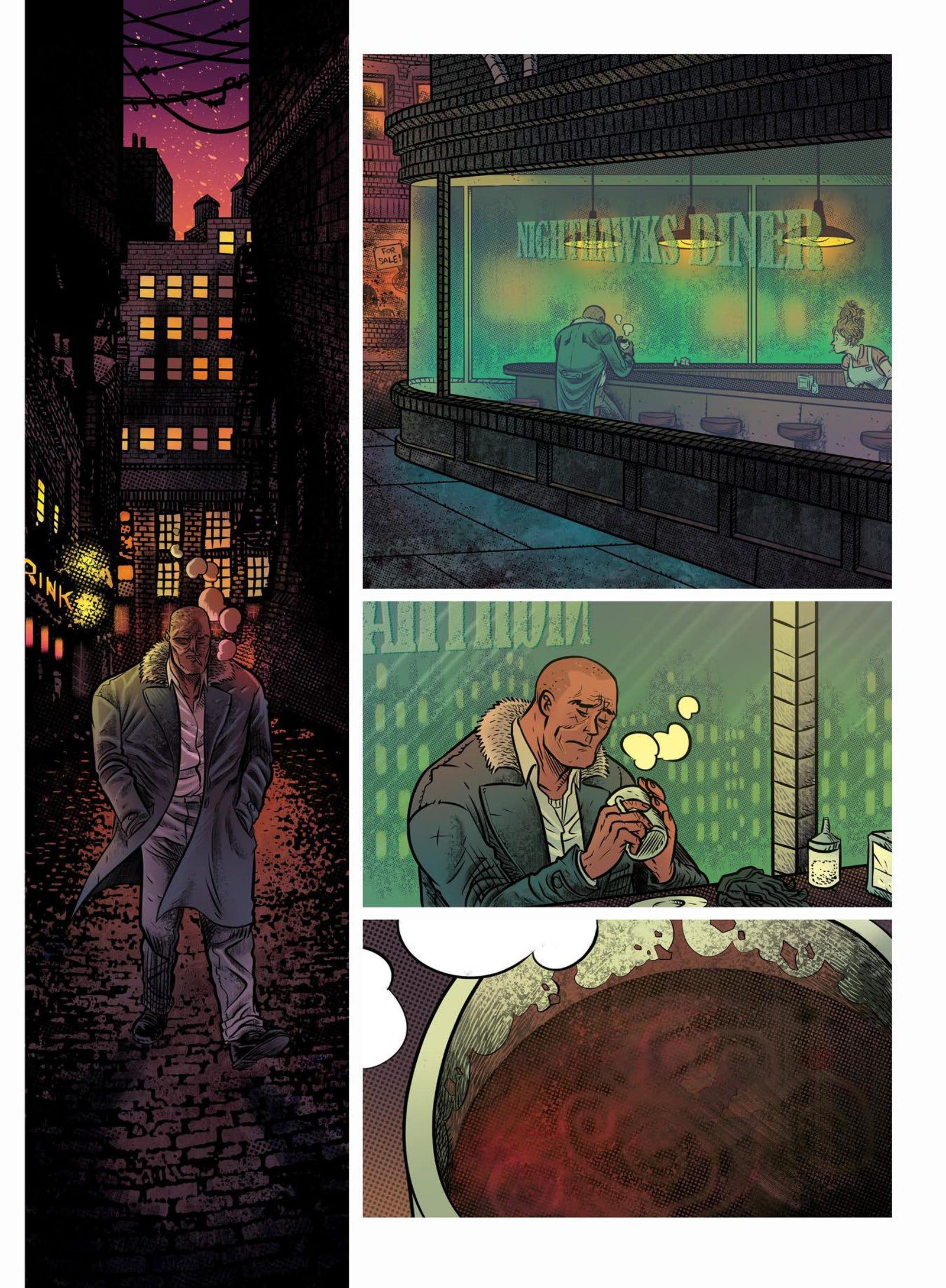 An exclusive look inside Cosmic Detective.