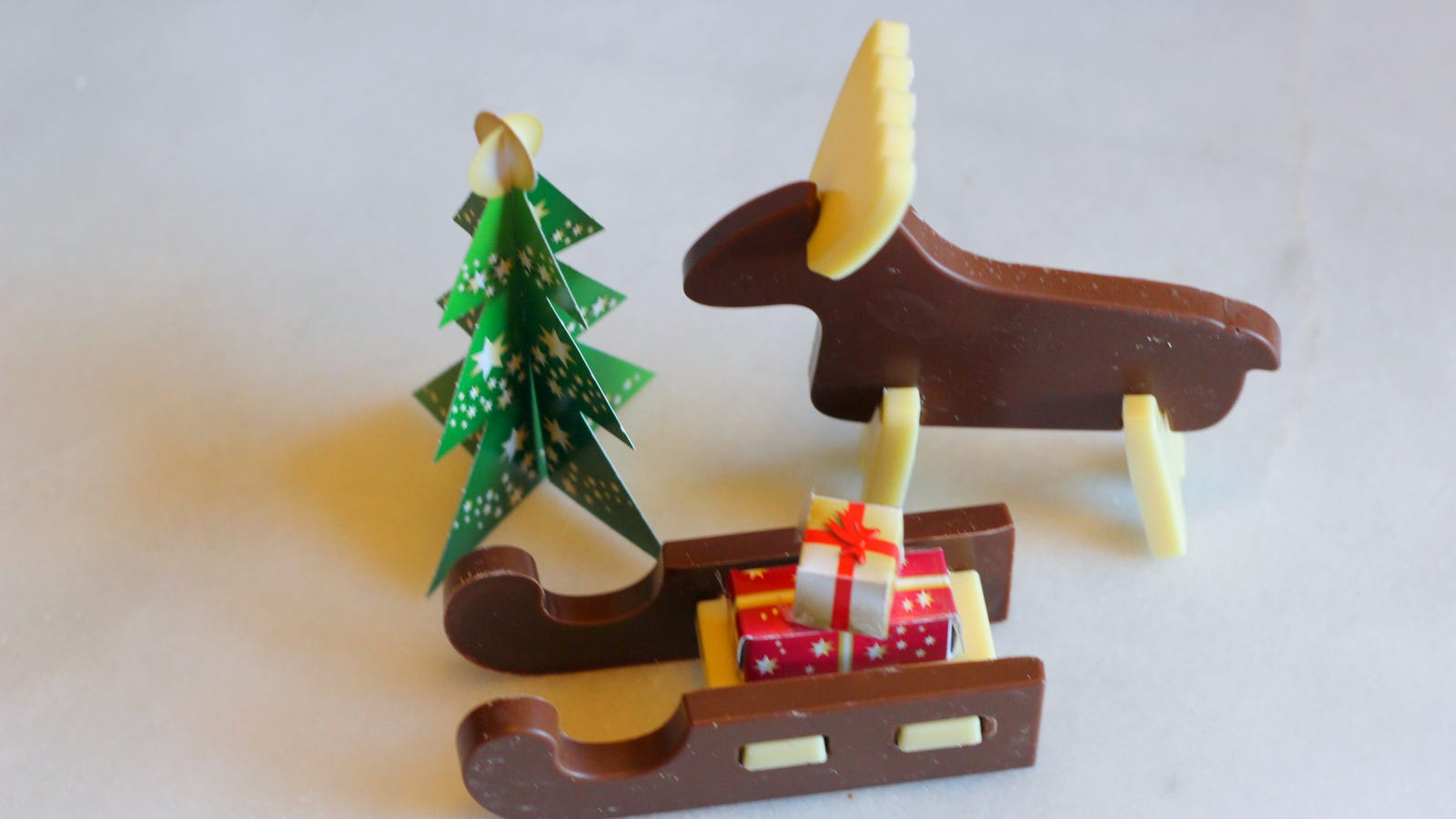 Chocolate Reindeer and Sled Kit ($1.99)