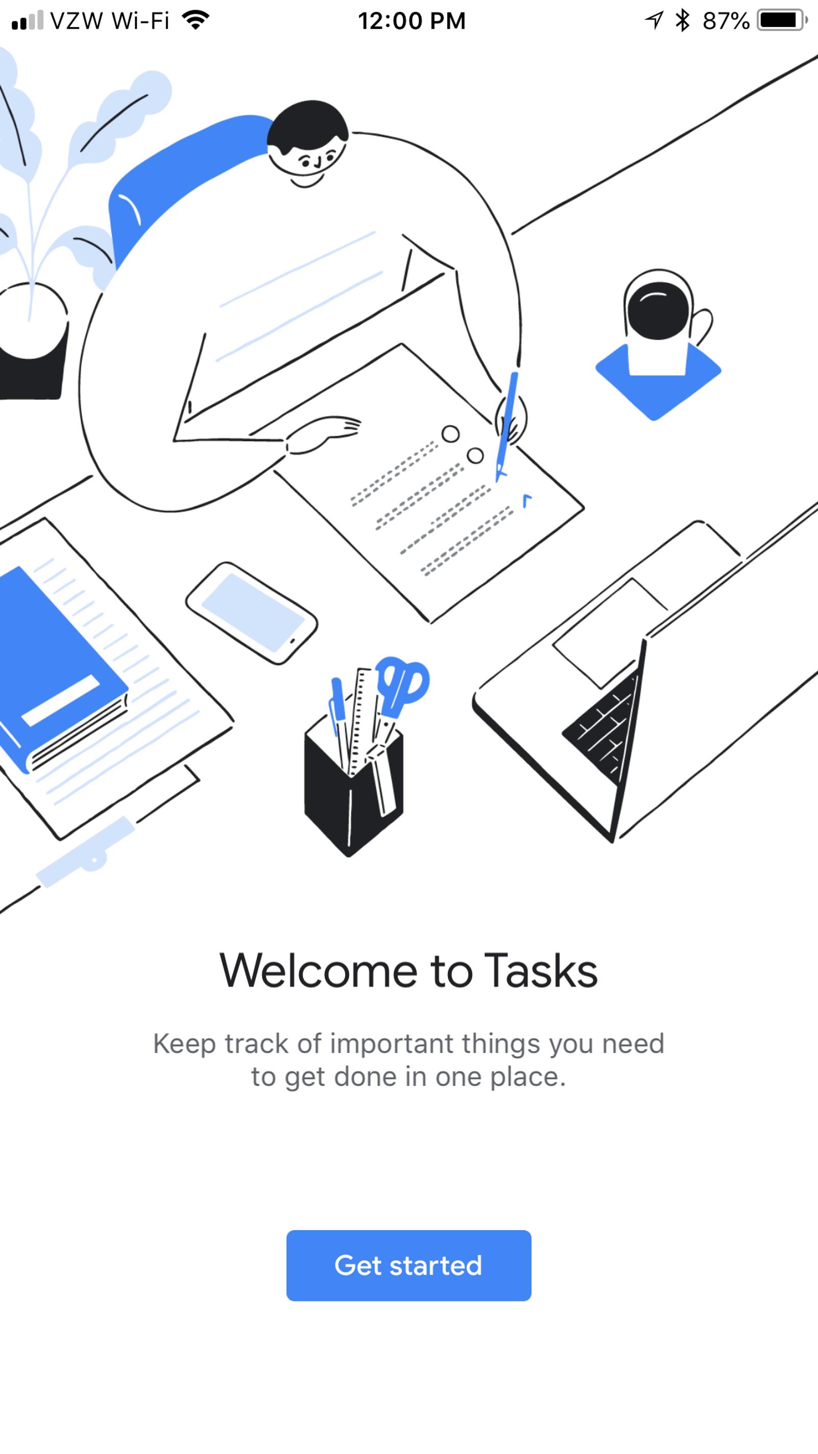 Hello to you too, Google Tasks.
