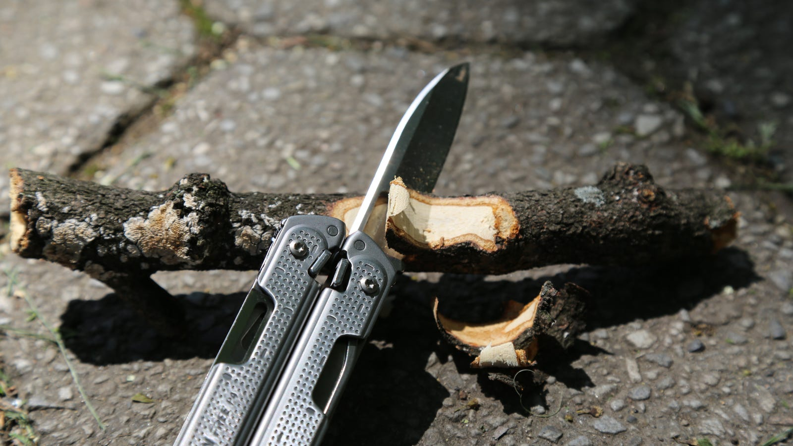 The Leatherman Free P4 is still great at whittling sticks.