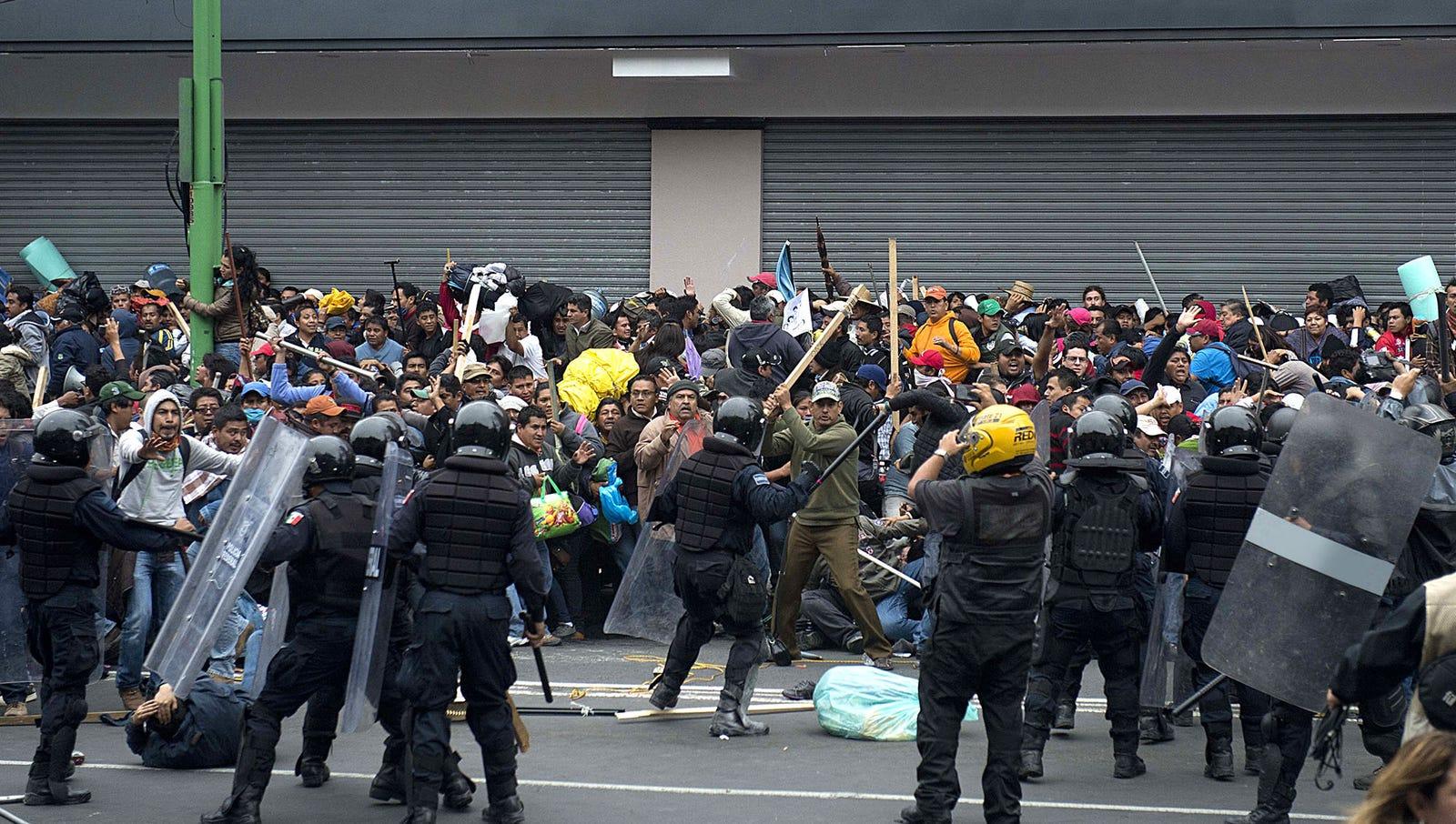 Hundreds Killed In Brutal Pro-Something–Anti-Something Clash