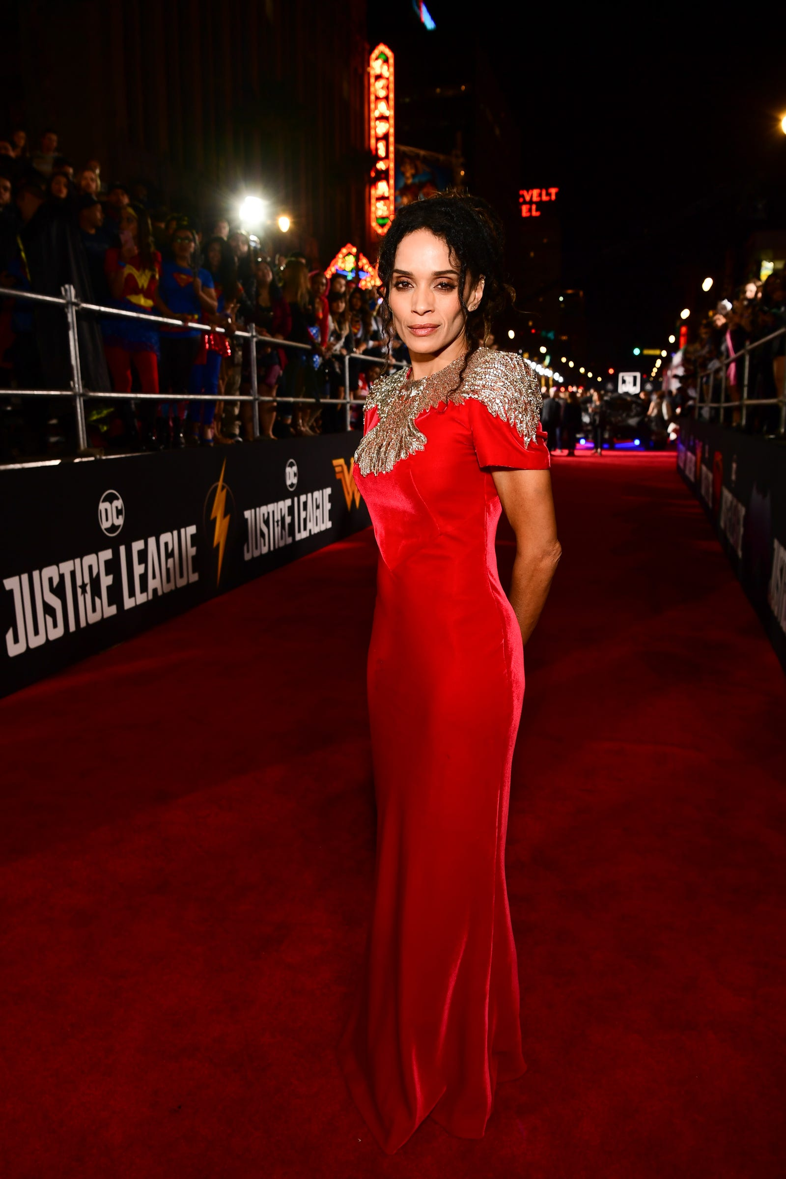 Lisa Bonet: Never forget that if Zoë Kravitz is a style star, she gets it from her mama. Lisa Bonet has been a fashion icon since playing Denise Huxtable over 30 years ago—and is still stunning.  (Lisa Bonet attends the premiere of Warner Bros. Pictures' 'Justice League' at Dolby Theatre on November 13, 2017 in Hollywood, California.)