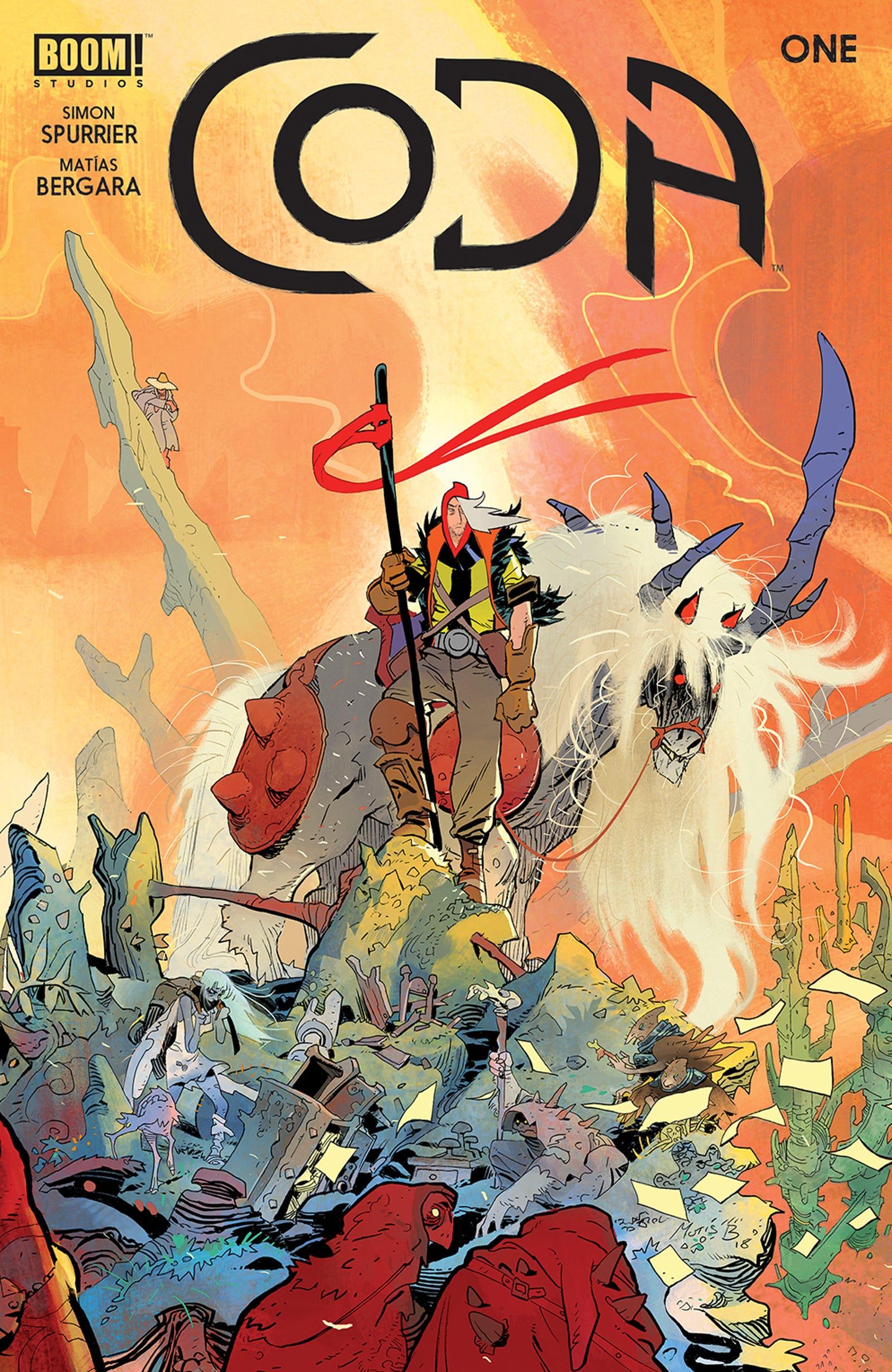 Illustration for article titled iCoda/i #1 is the start of a wild and wonderful apocalypseem/em