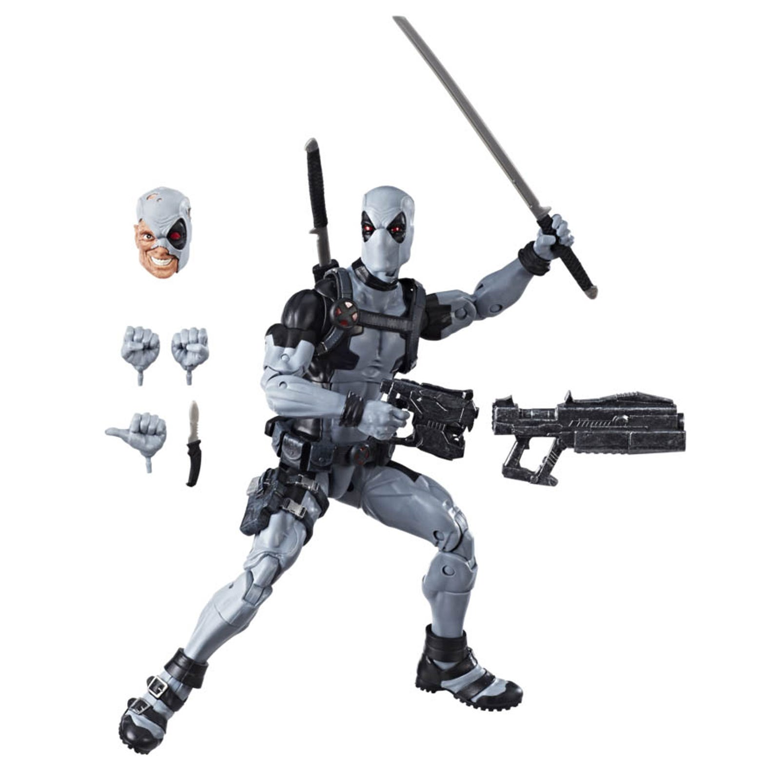 "Marvel Legends 12"" Uncanny X-Force Deadpool."