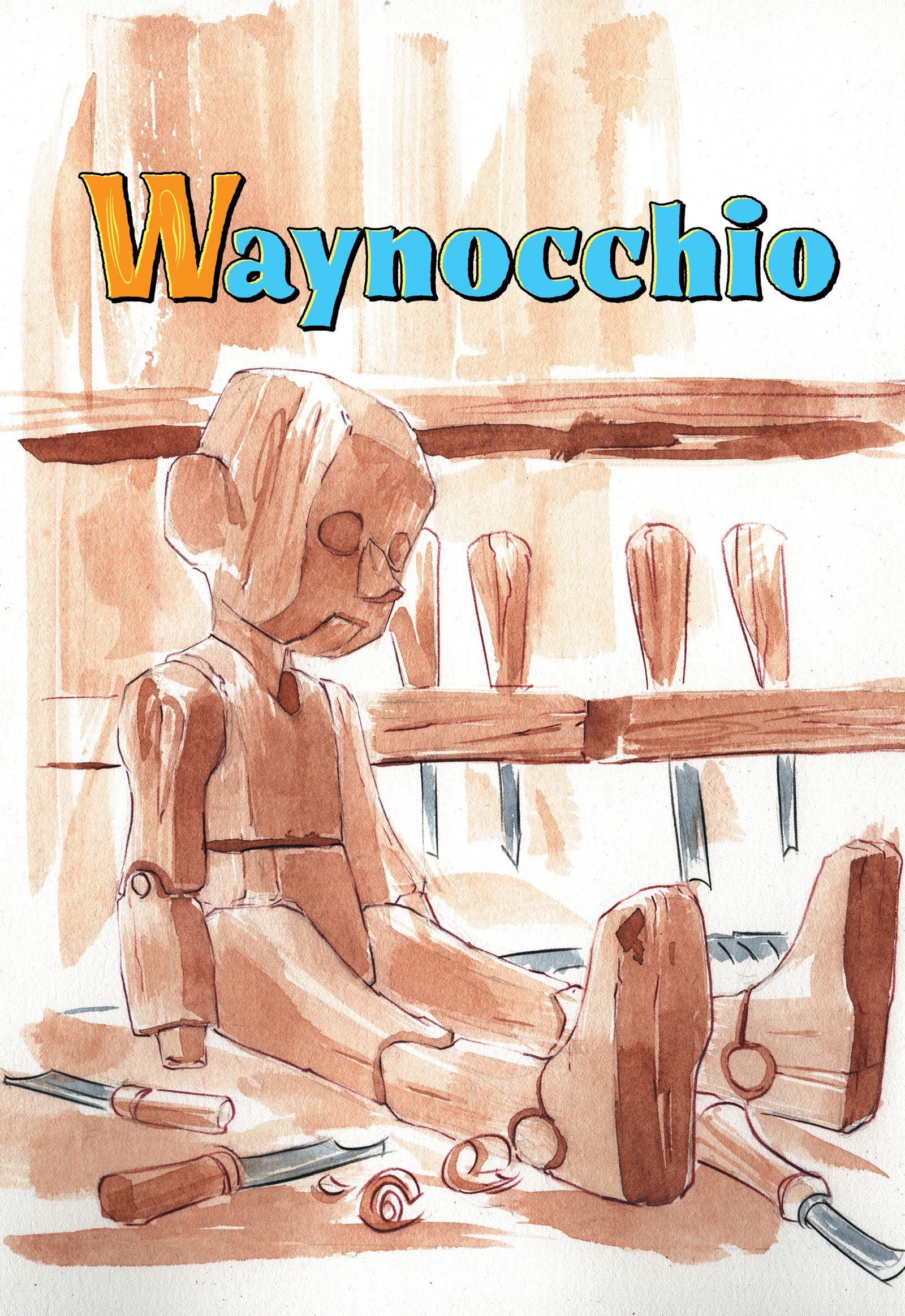 "An exclusive look inside ""Waynocchio"", one of the stories told in Batman Tales: Once Upon a Crime."