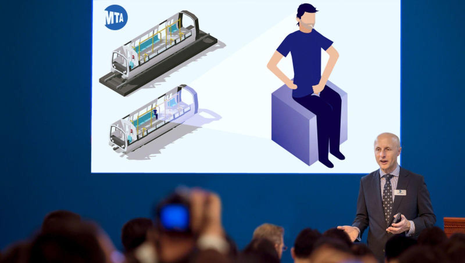 MTA Unveils $28 Billion Plan To Renovate Subway Masturbators