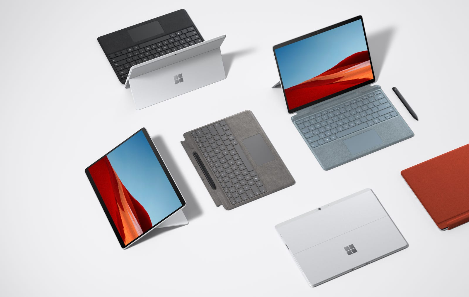 Click through for more official images of the refreshed Surface Pro X.