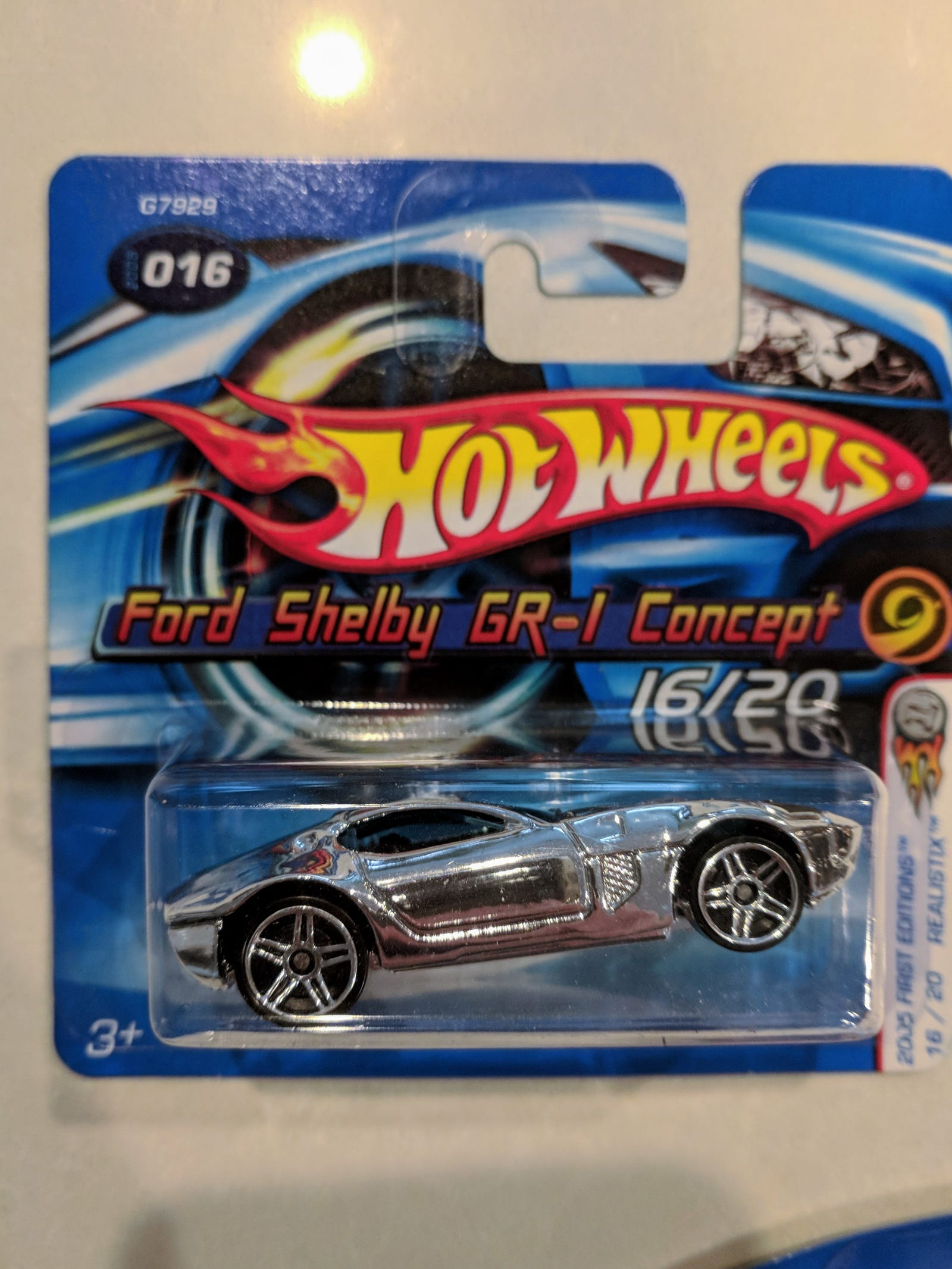 Lot 9: Concept Cars - $10 for 17 cars Including chrome Shelby GR1 on a short card...