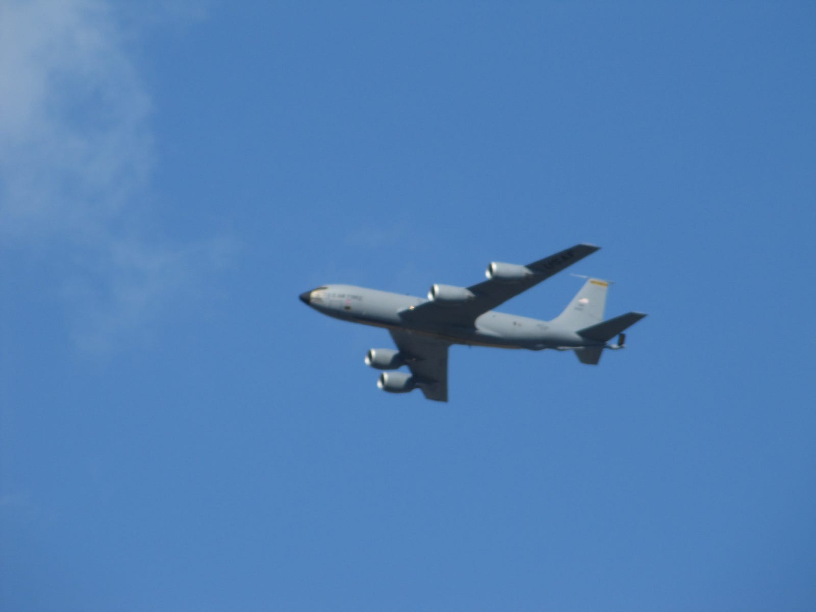 Special guest appearance by a 171st ARW KC-135!