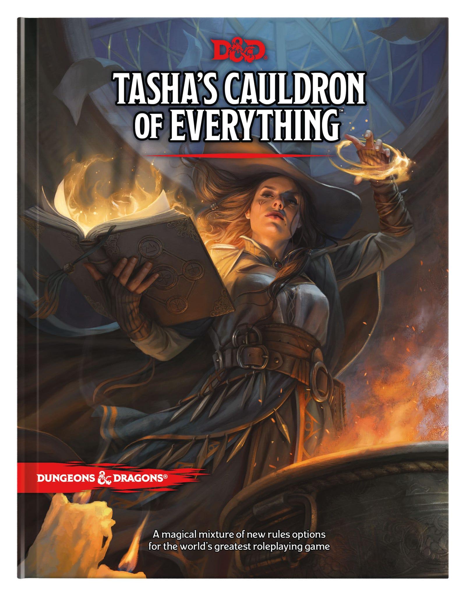 Magali Villeneuve's cover work for Tasha's Cauldron of Everything...