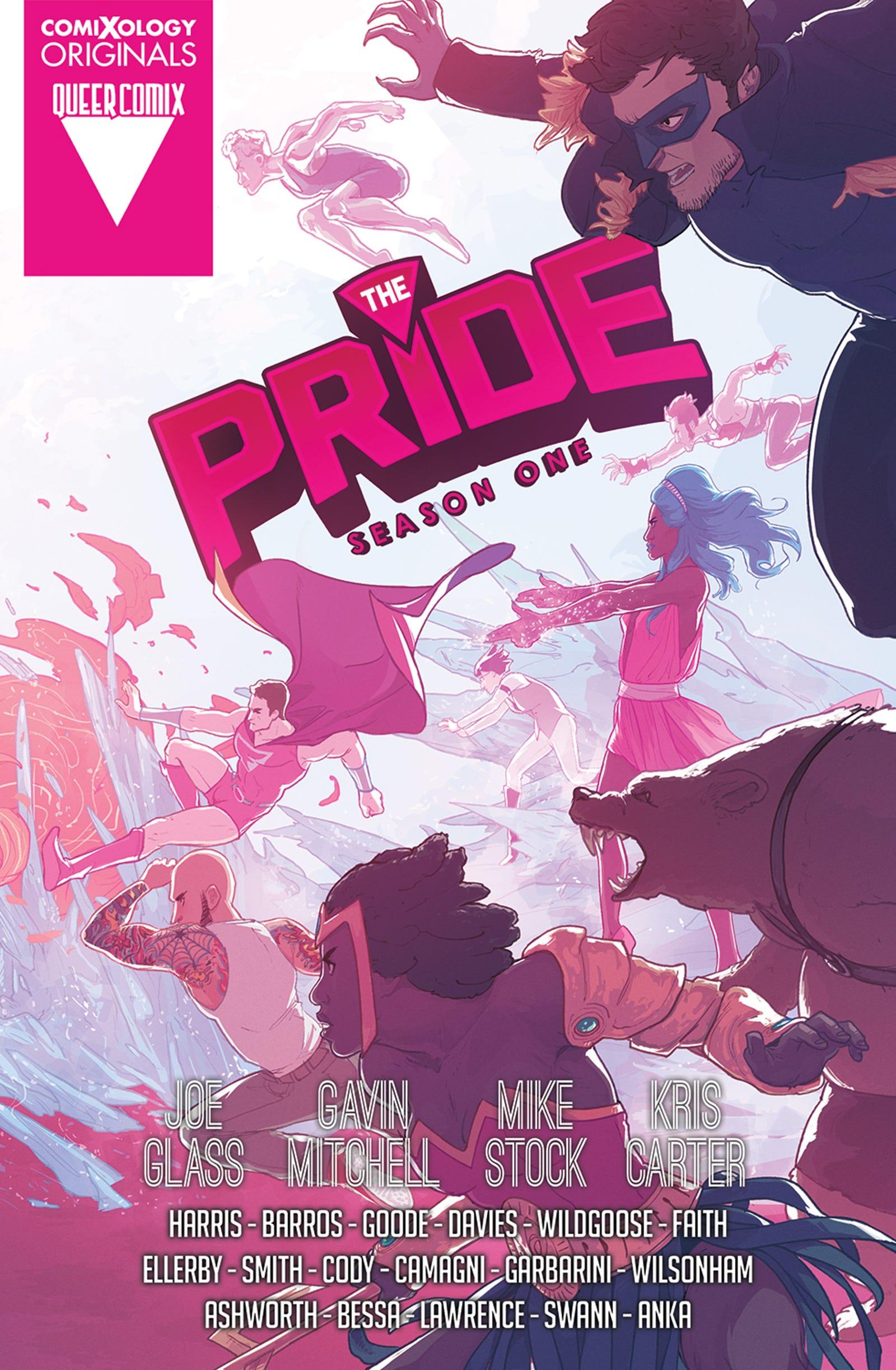 Illustration for article titled emThe Pride/em's queer superhero team returns in this emFame Monster/em exclusive